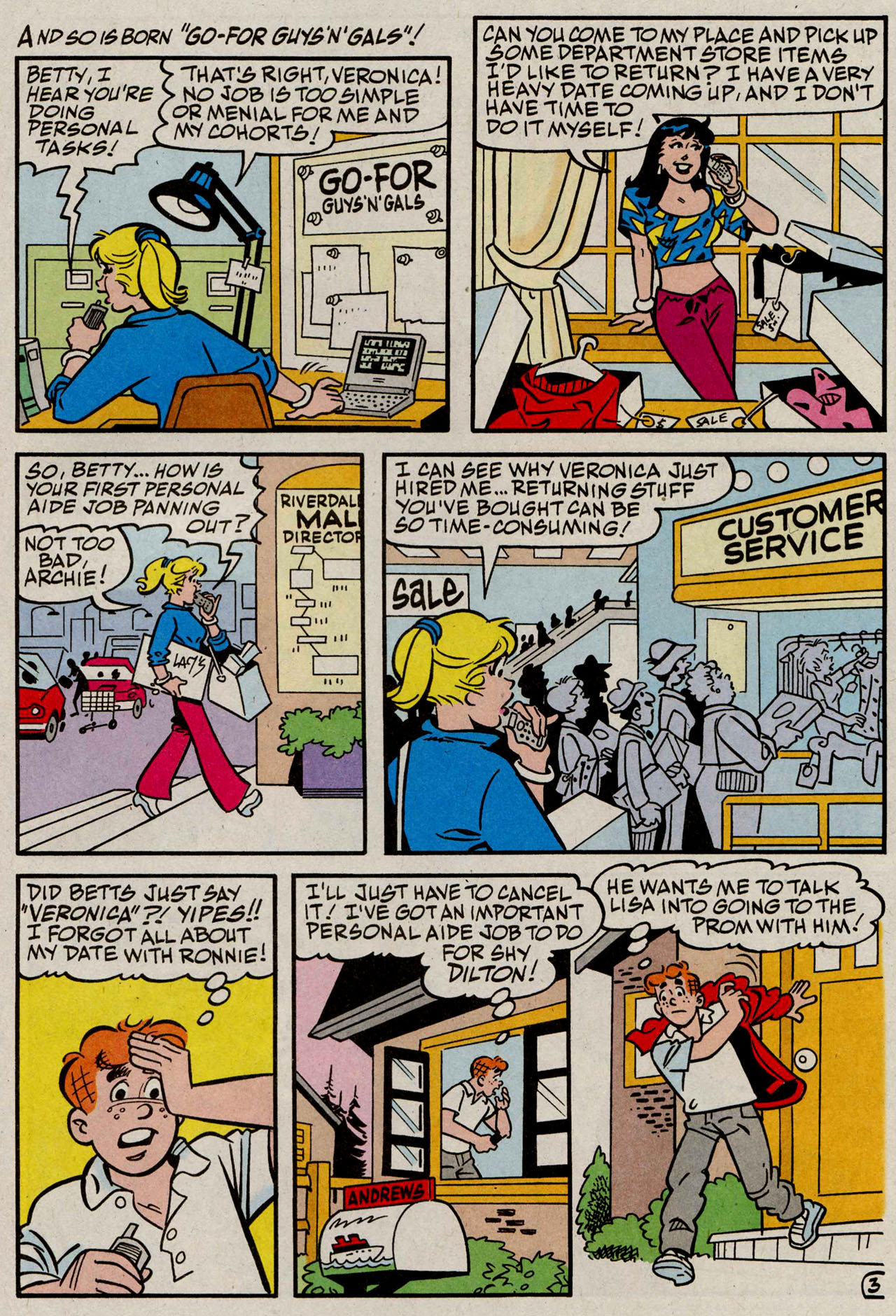 Read online Archie (1960) comic -  Issue #585 - 4