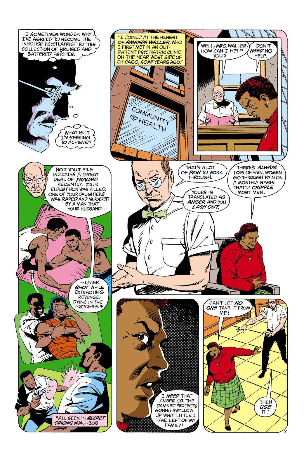 Suicide Squad (1987) Issue #8 #9 - English 3