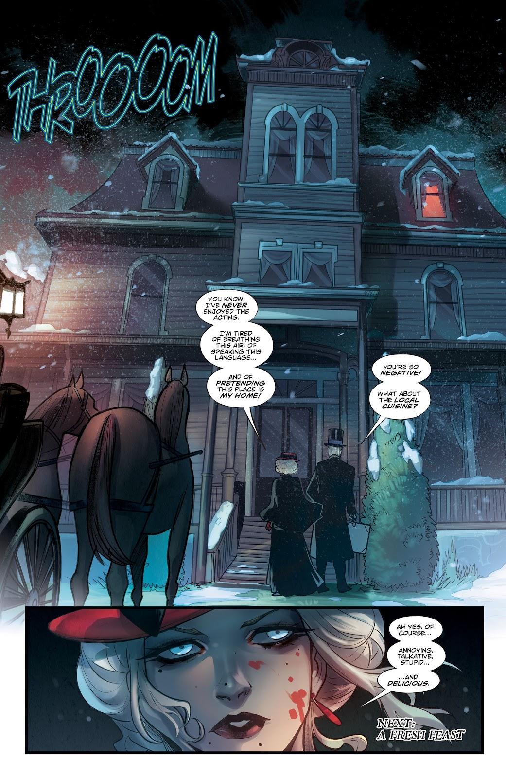 Read online Mirka Andolfo's Mercy comic -  Issue #1 - 28