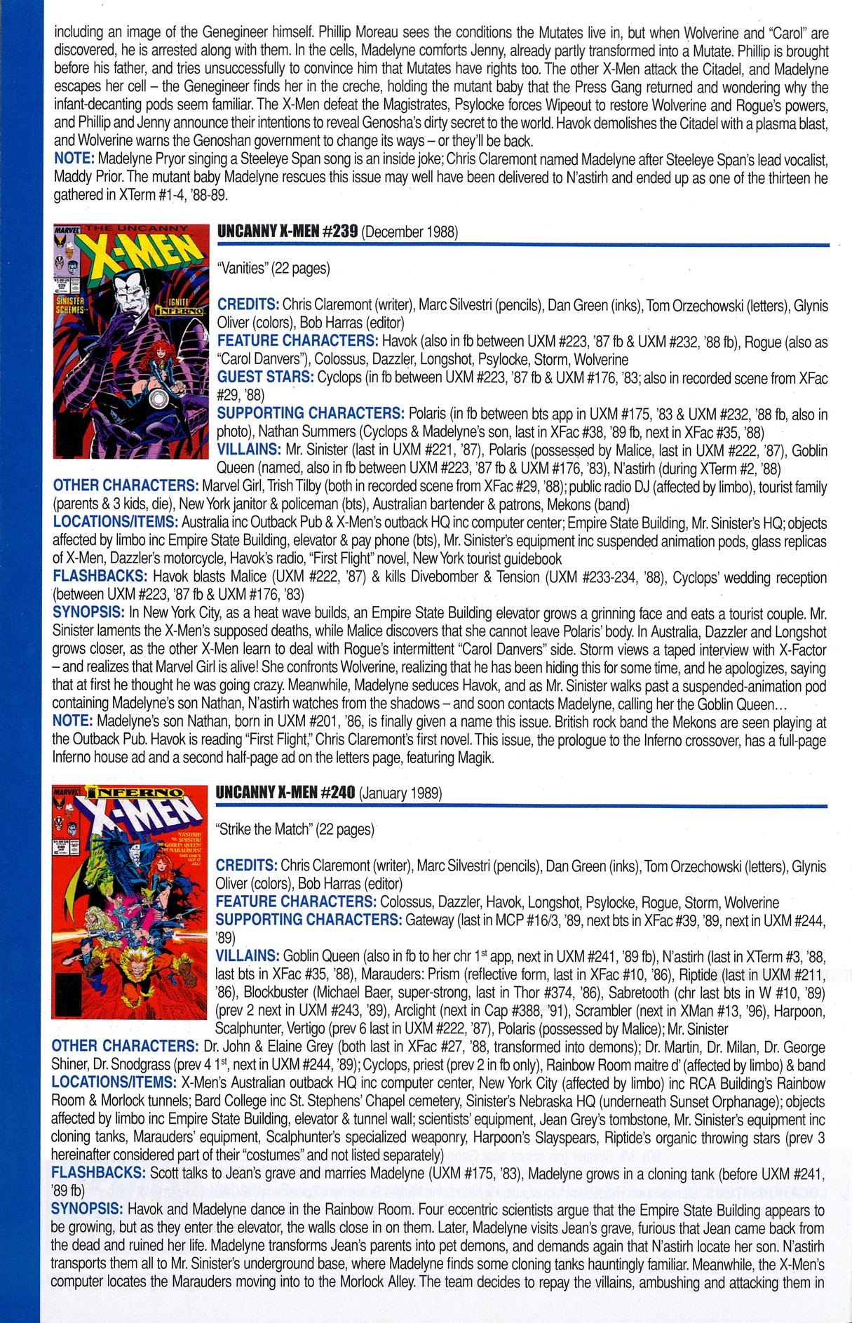 Read online Official Index to the Marvel Universe comic -  Issue #6 - 50