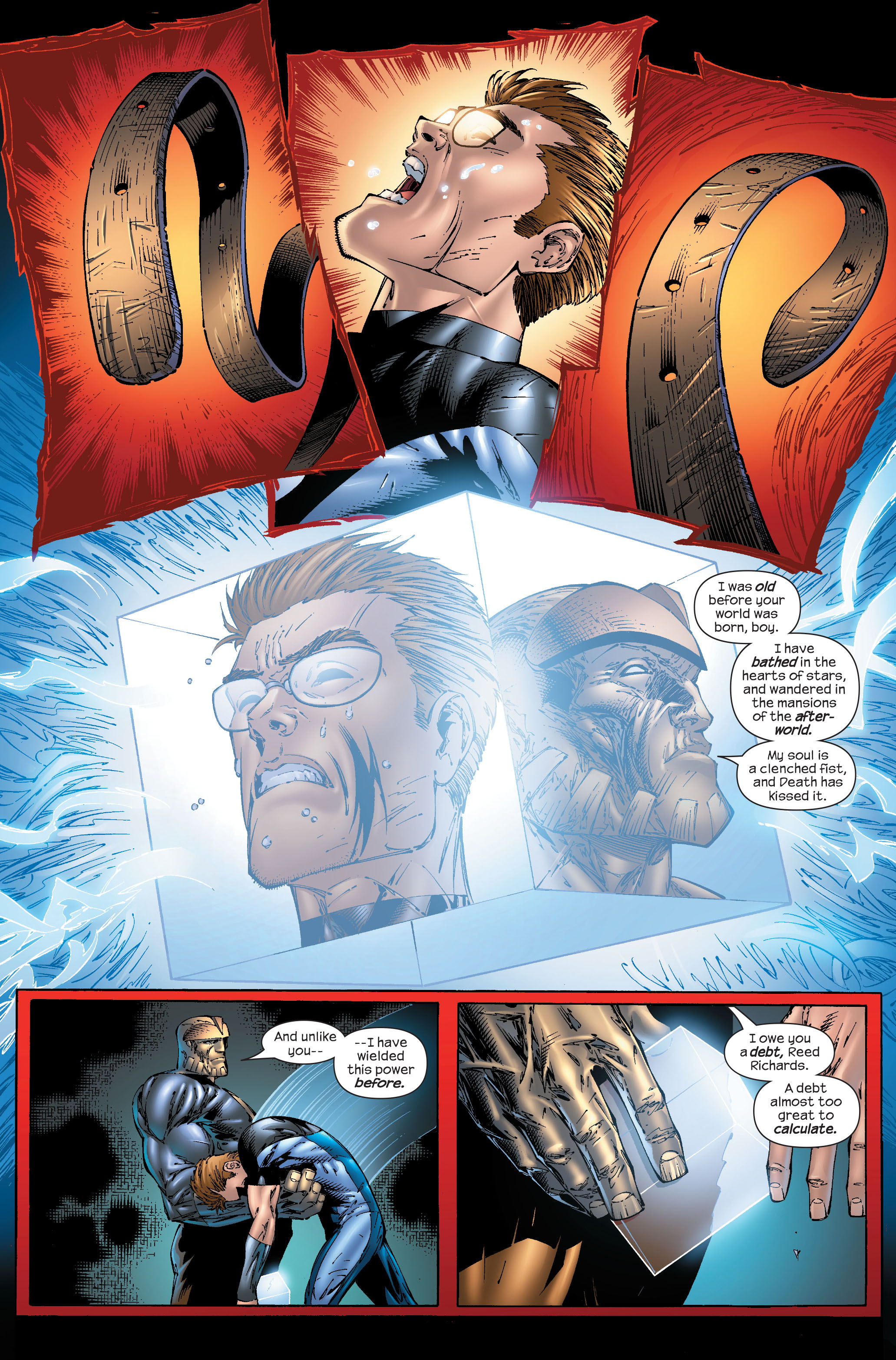 Read online Ultimate Fantastic Four (2004) comic -  Issue #51 - 22