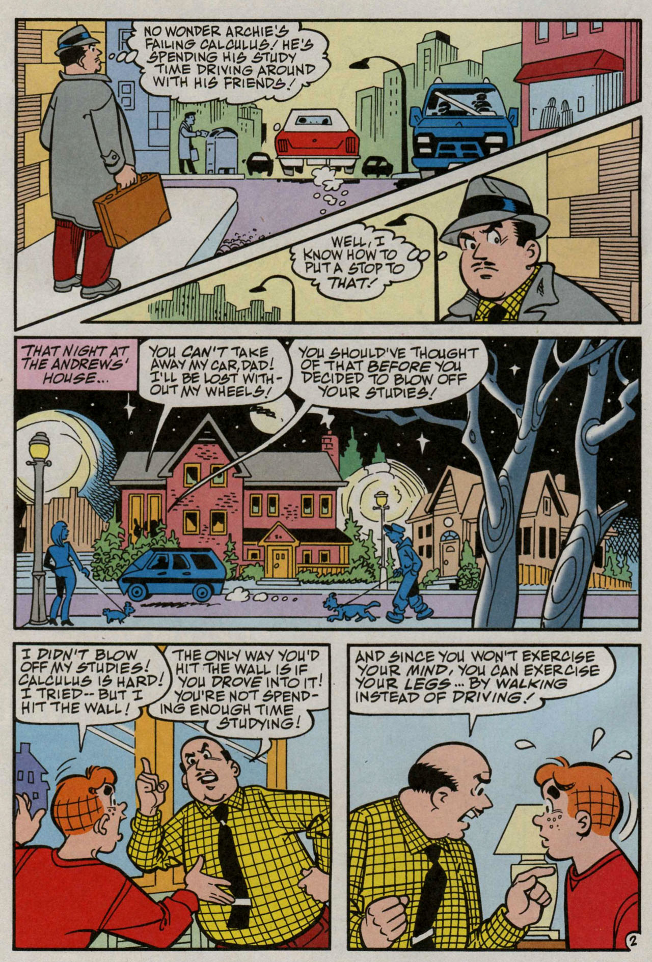 Read online Archie (1960) comic -  Issue #582 - 3