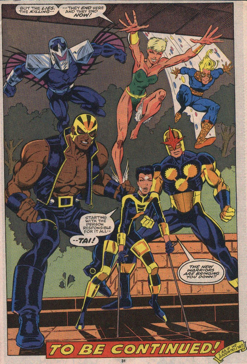 The New Warriors Issue #23 #27 - English 23