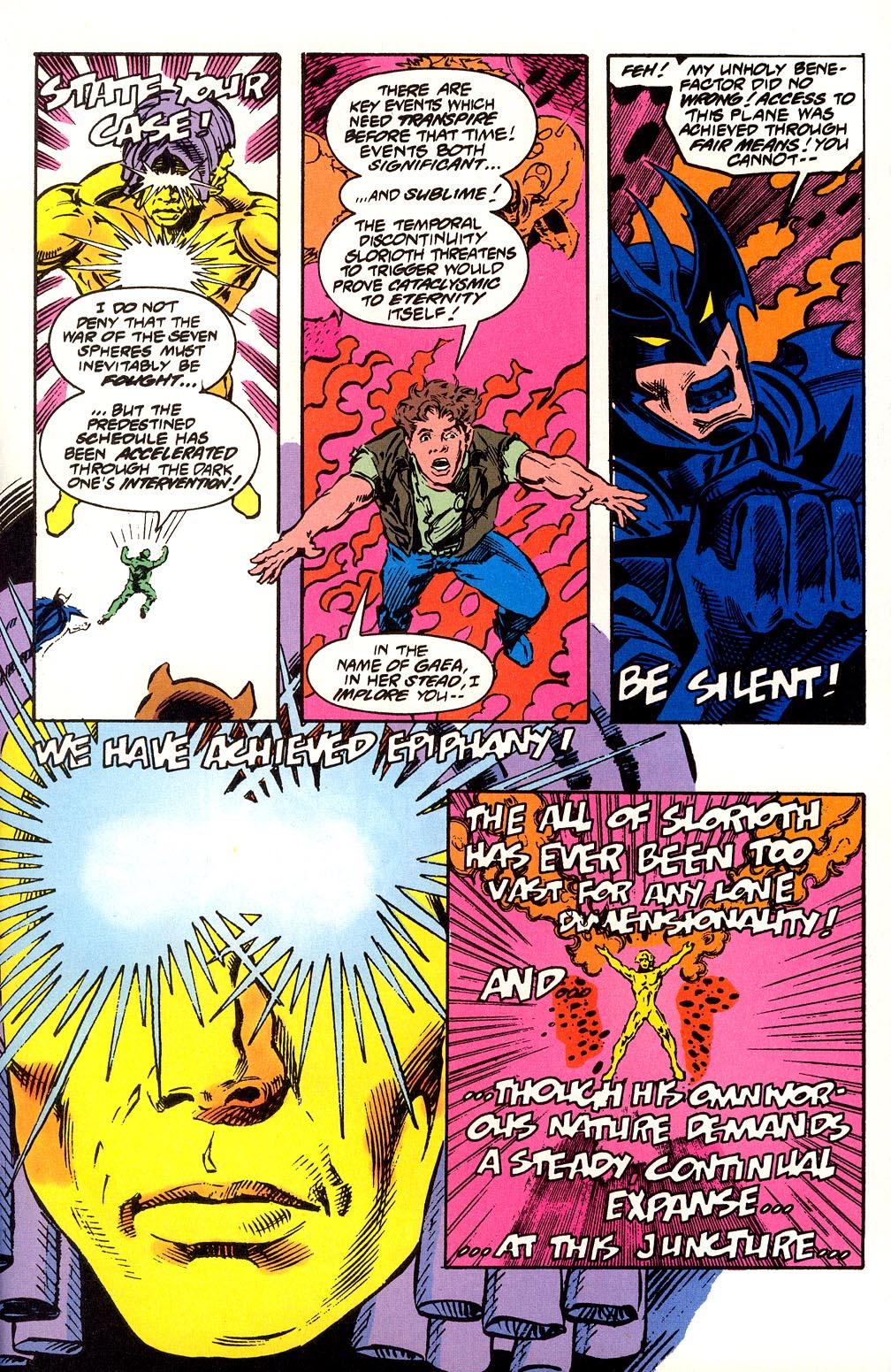 Read online Secret Defenders comic -  Issue #25 - 29