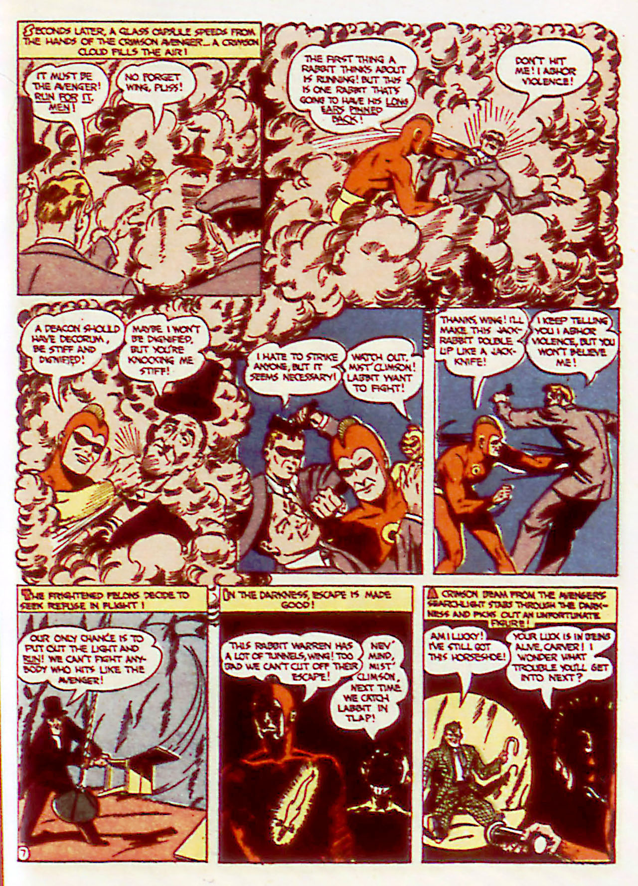 Read online Detective Comics (1937) comic -  Issue #71 - 37
