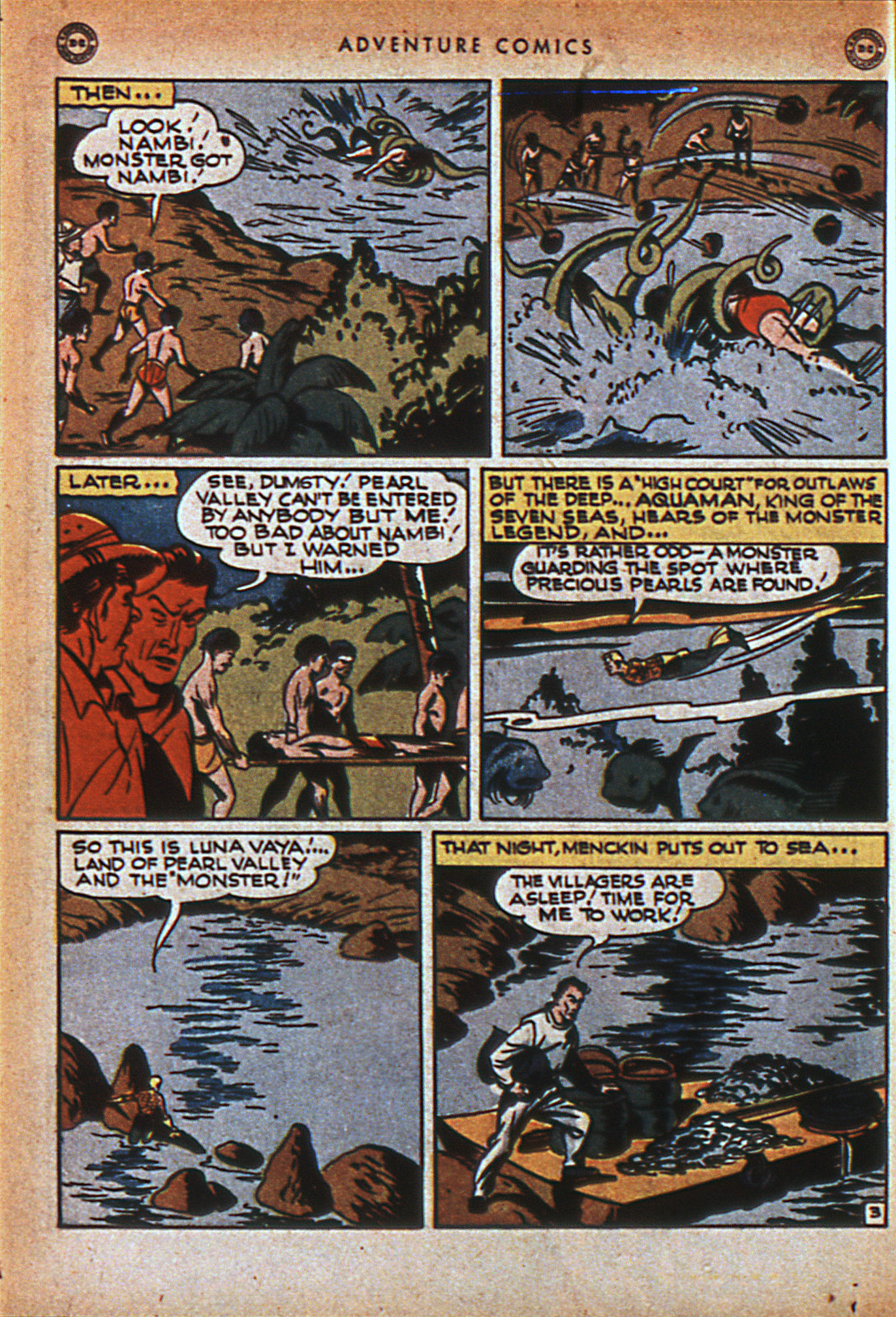 Read online Adventure Comics (1938) comic -  Issue #116 - 33