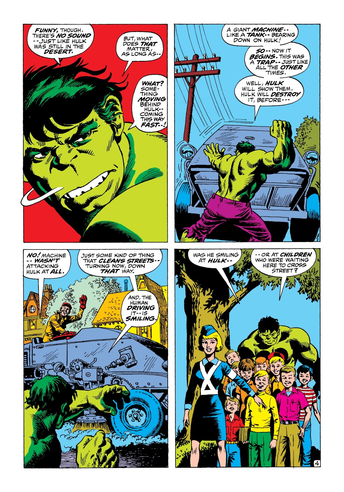 Read online Marvel Masterworks: The Incredible Hulk comic -  Issue # TPB 8 (Part 1) - 79