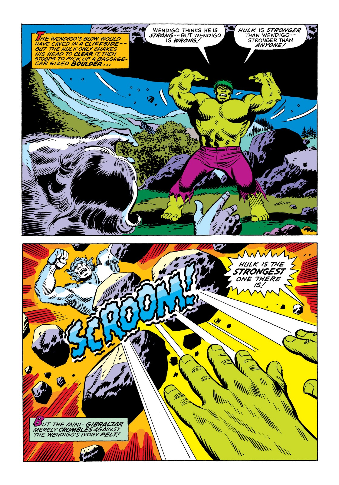 Read online Marvel Masterworks: The Incredible Hulk comic -  Issue # TPB 10 (Part 3) - 1