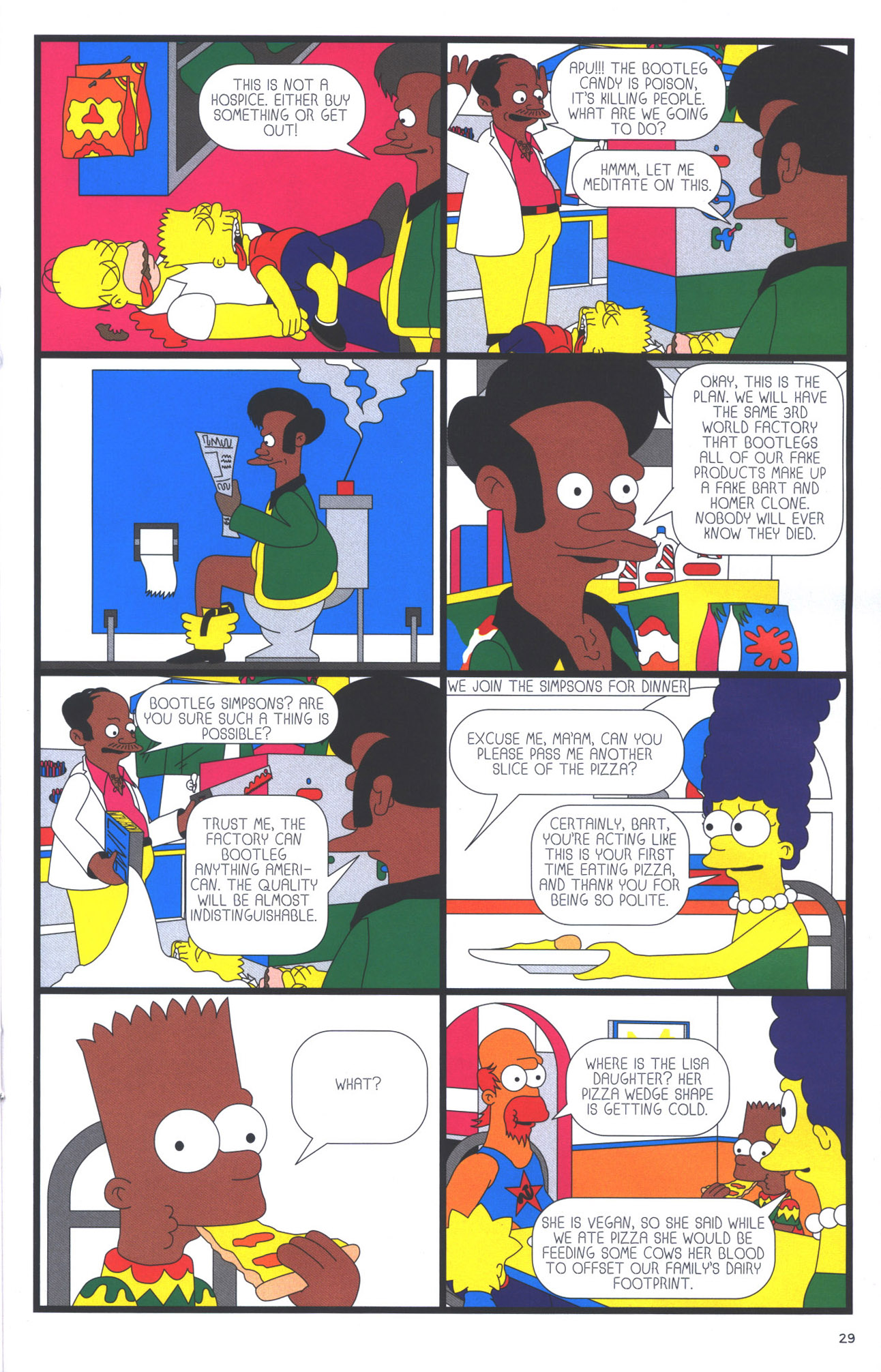 Read online Treehouse of Horror comic -  Issue #15 - 32