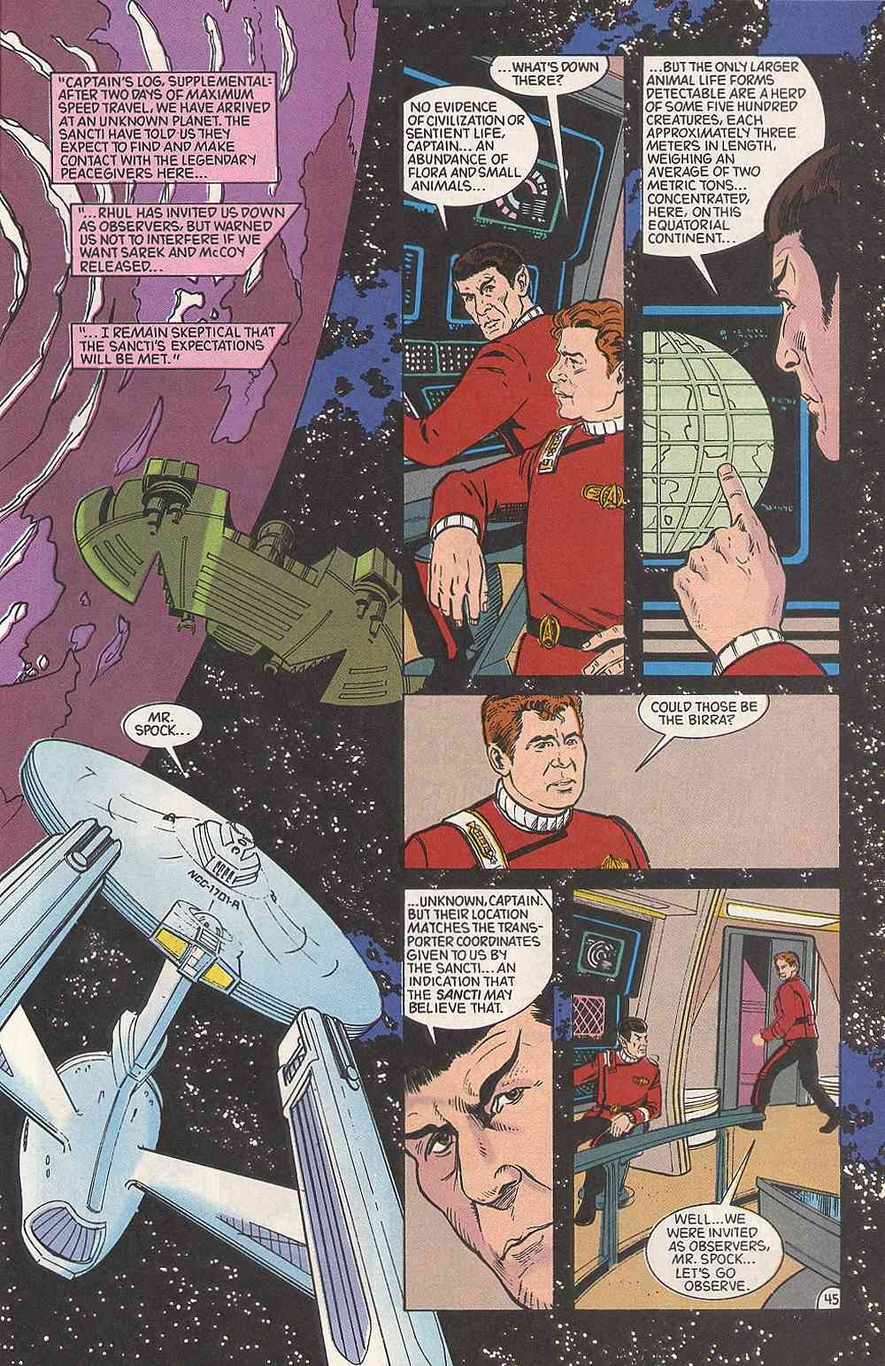 Read online Star Trek (1989) comic -  Issue # Annual 3 - 49
