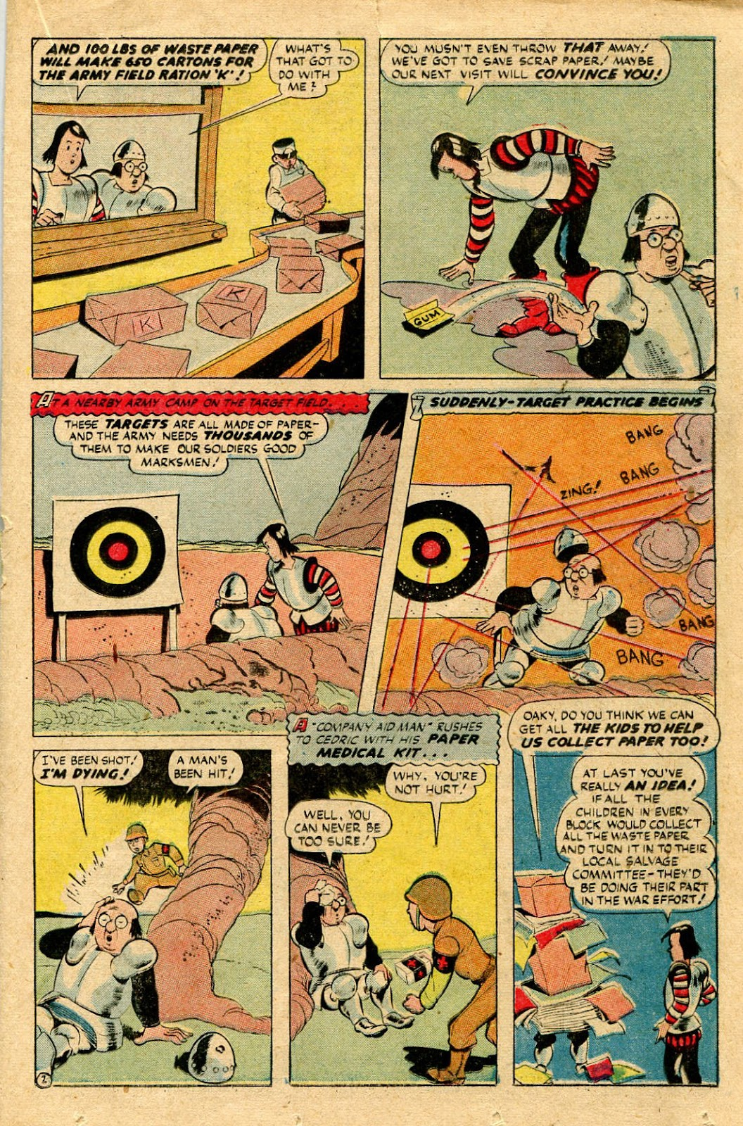 Read online Famous Funnies comic -  Issue #116 - 27