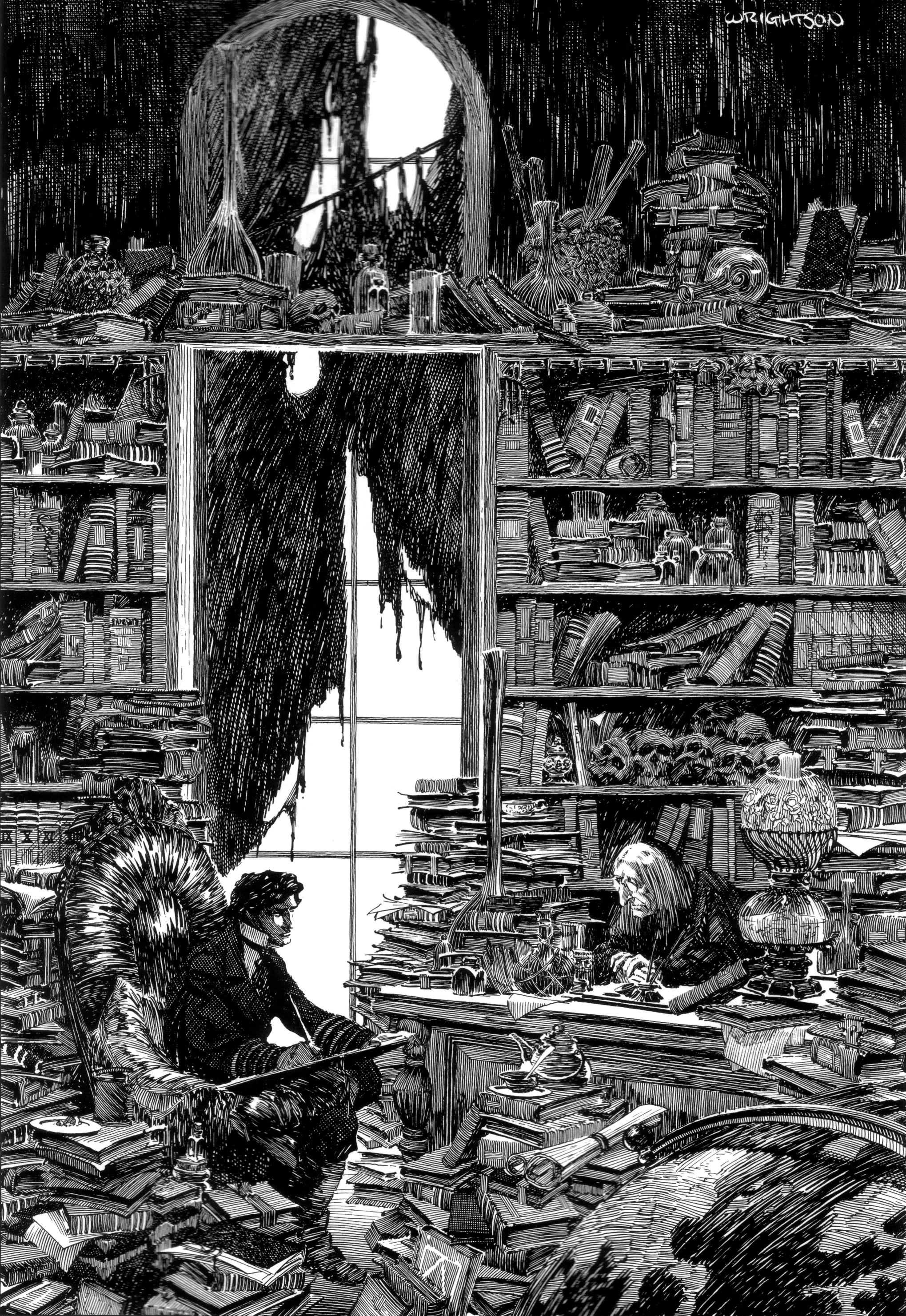 Read online Bernie Wrightson's Frankenstein comic -  Issue # Full - 33