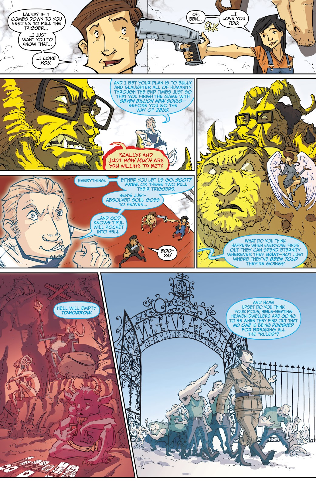 Read online The End Times of Bram and Ben comic -  Issue #4 - 24