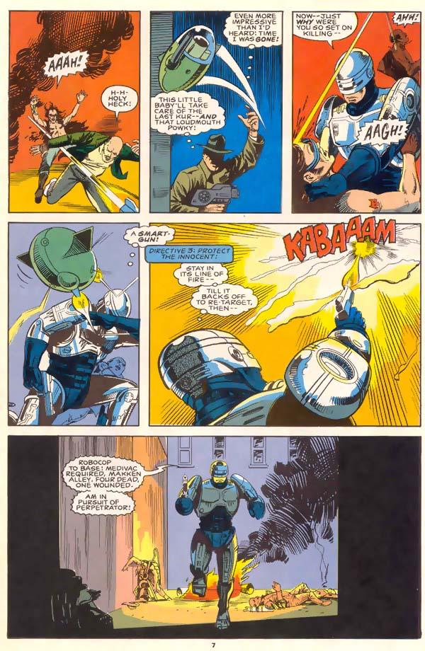 Read online Robocop (1990) comic -  Issue #1 - 6