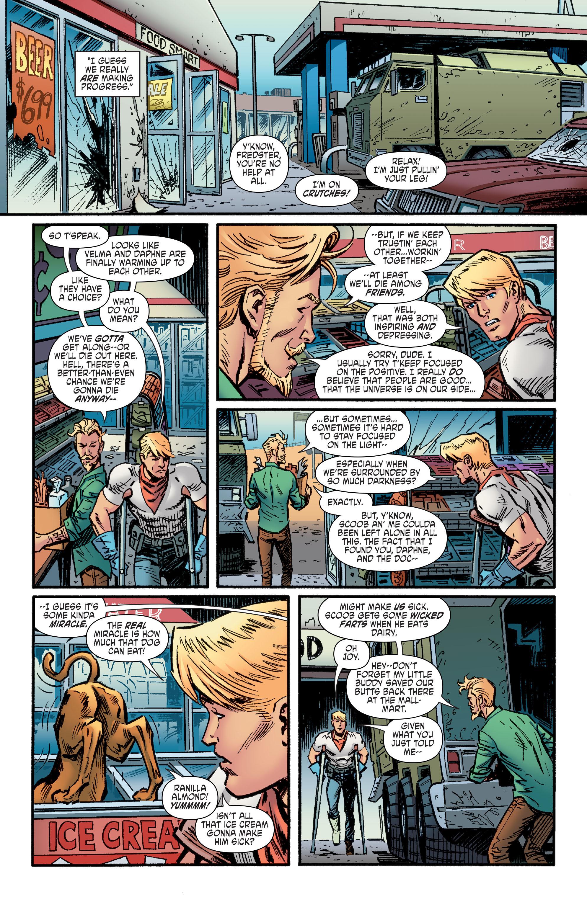 Read online Scooby Apocalypse comic -  Issue #9 - 13