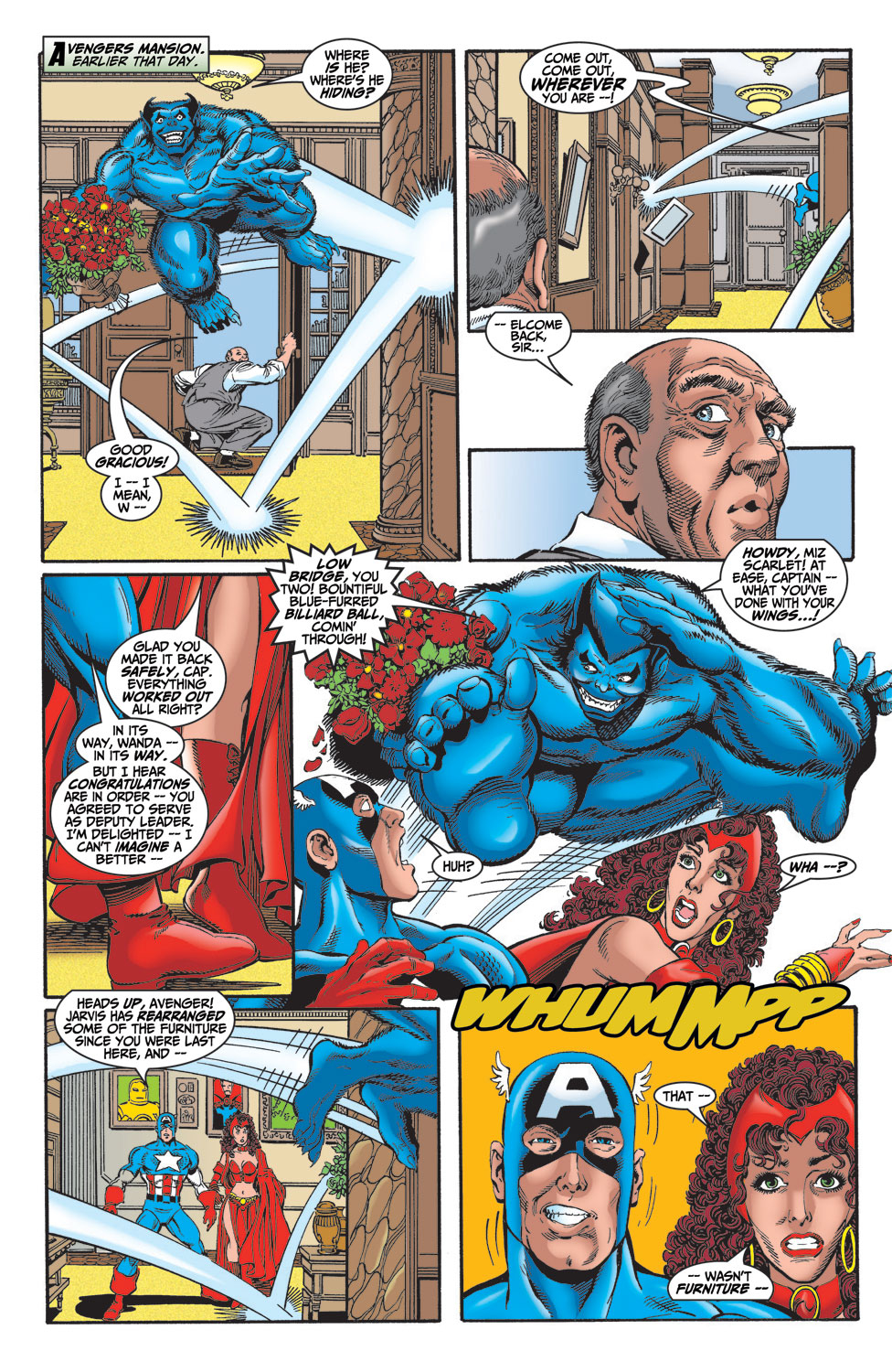 Read online Avengers (1998) comic -  Issue #14 - 4