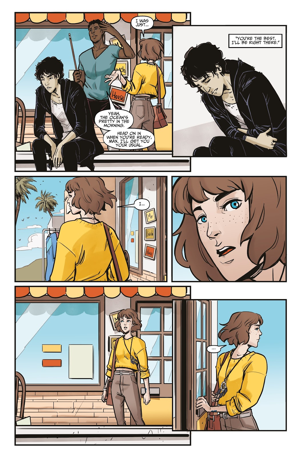 Read online Life is Strange comic -  Issue #5 - 19