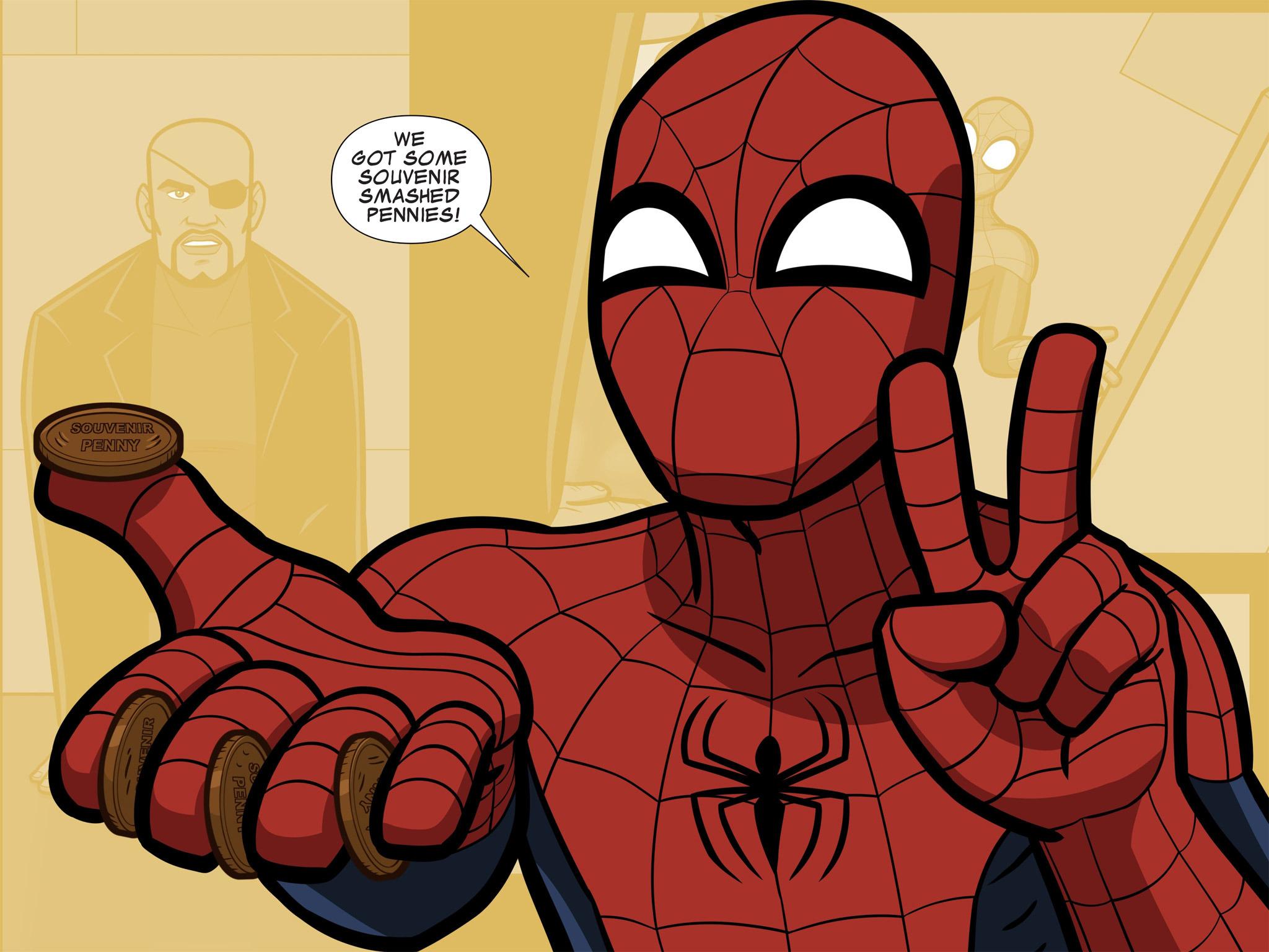 Read online Ultimate Spider-Man (Infinite Comics) (2015) comic -  Issue #11 - 34