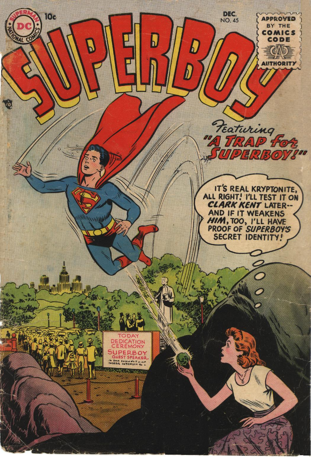 Superboy (1949) issue 45 - Page 1