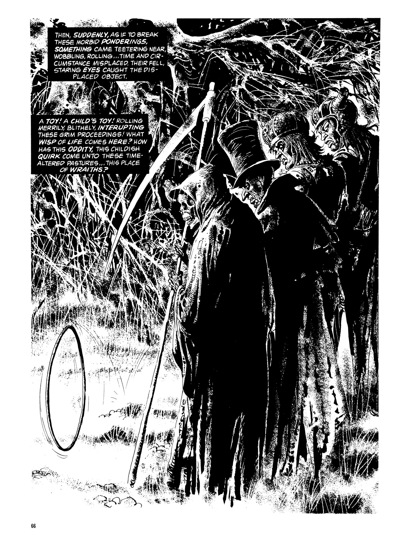 Read online Eerie Archives comic -  Issue # TPB 14 - 67