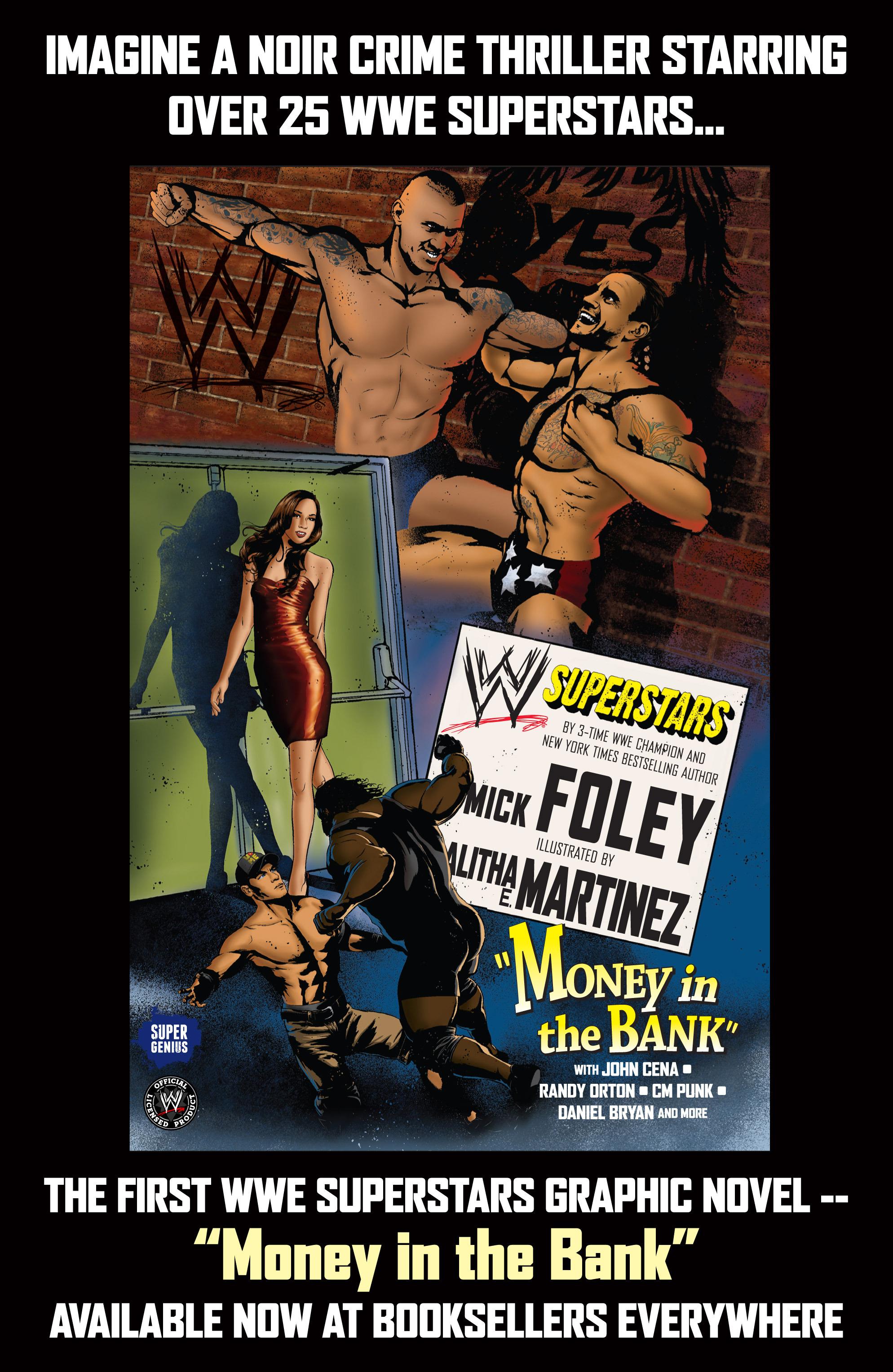 Read online WWE Superstars comic -  Issue #7 - 27