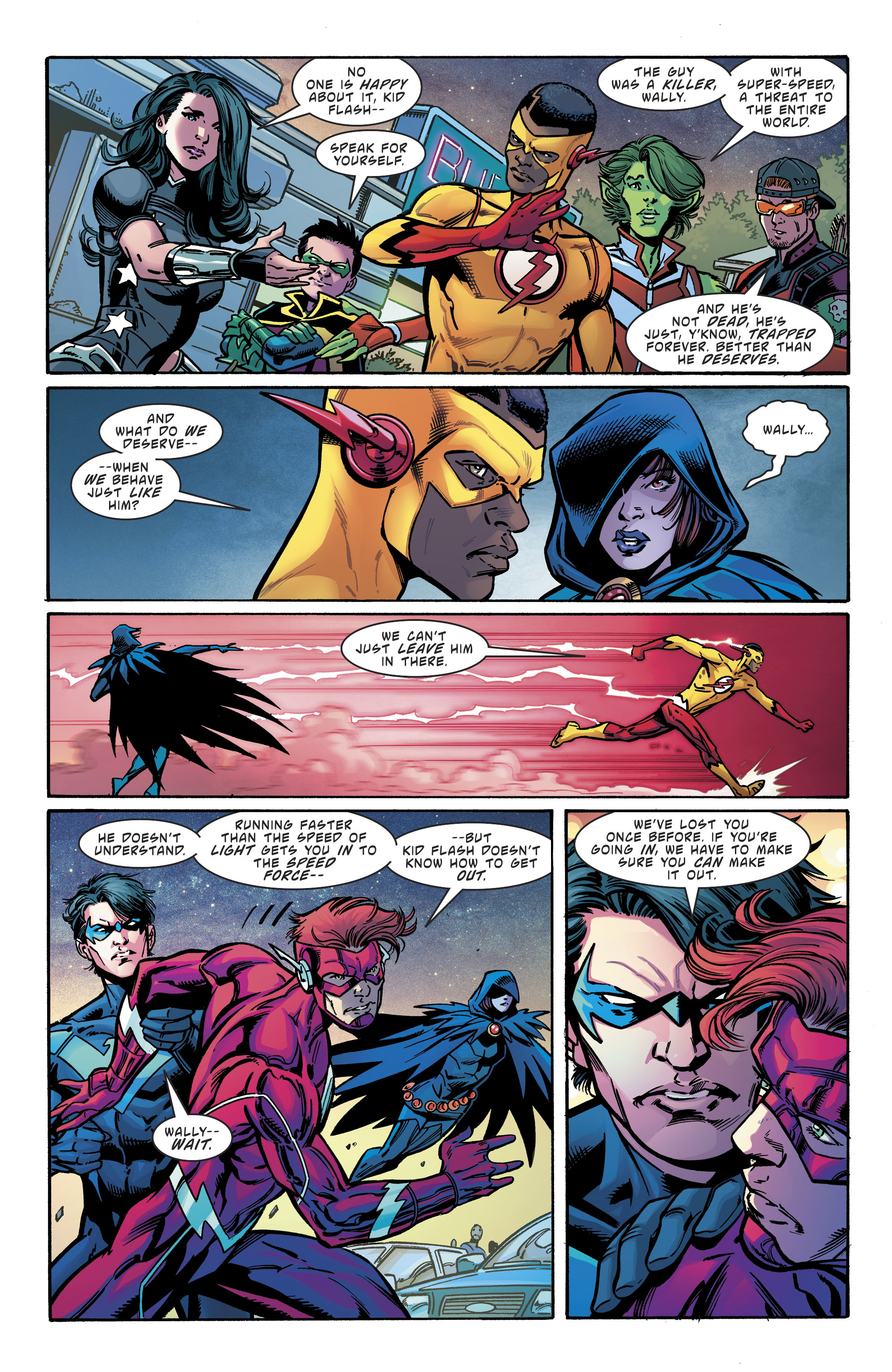 Read online Teen Titans (2016) comic -  Issue # Annual 1 - The Lazarus Contract Special 1 - 24