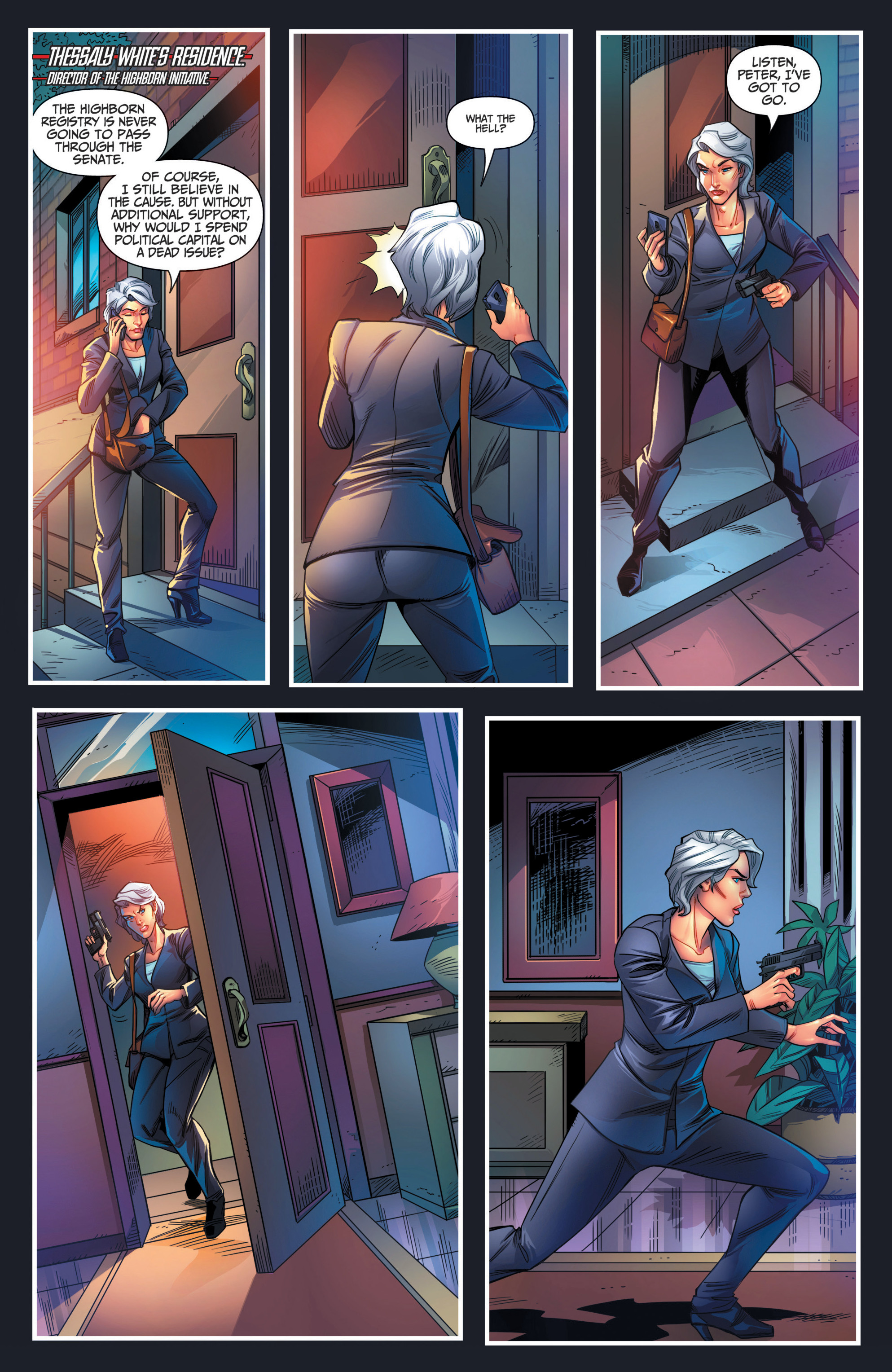 Read online Grimm Fairy Tales presents Red Agent: The Human Order comic -  Issue #7 - 3