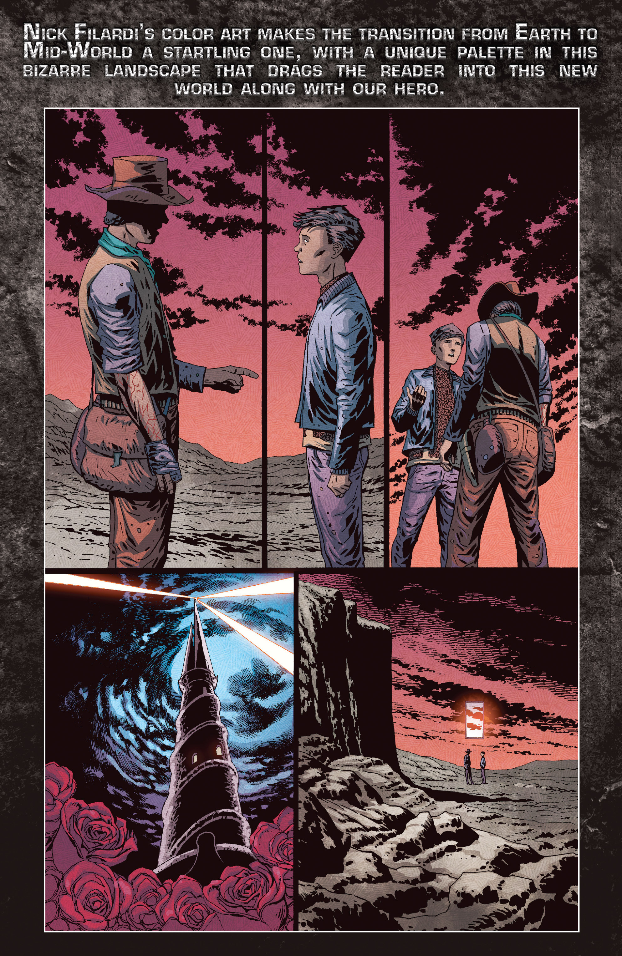 Read online Dark Tower: The Drawing of the Three - The Prisoner comic -  Issue #5 - 28