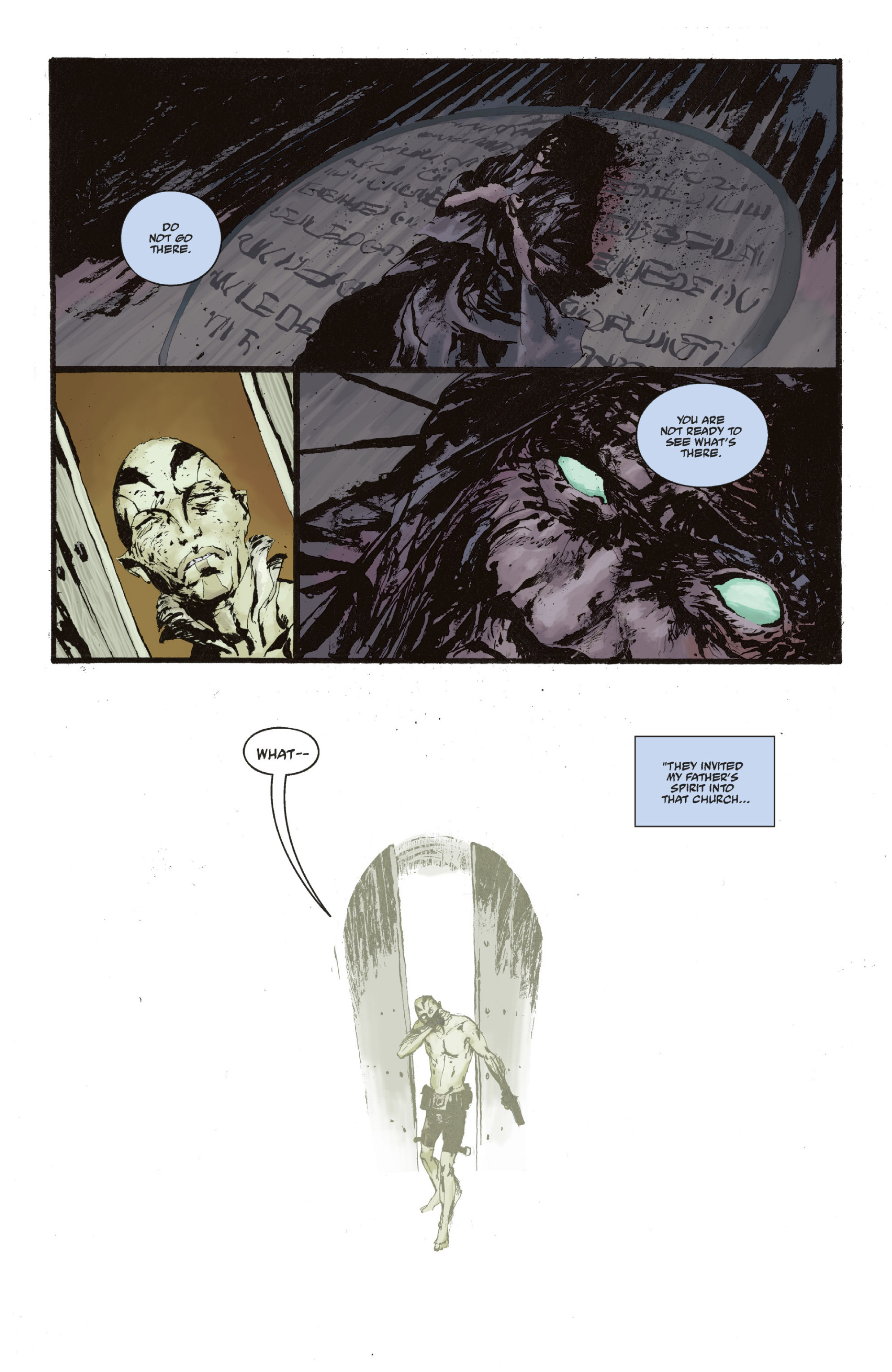 Read online Abe Sapien: The Drowning comic -  Issue #Abe Sapien: The Drowning _TPB - 120