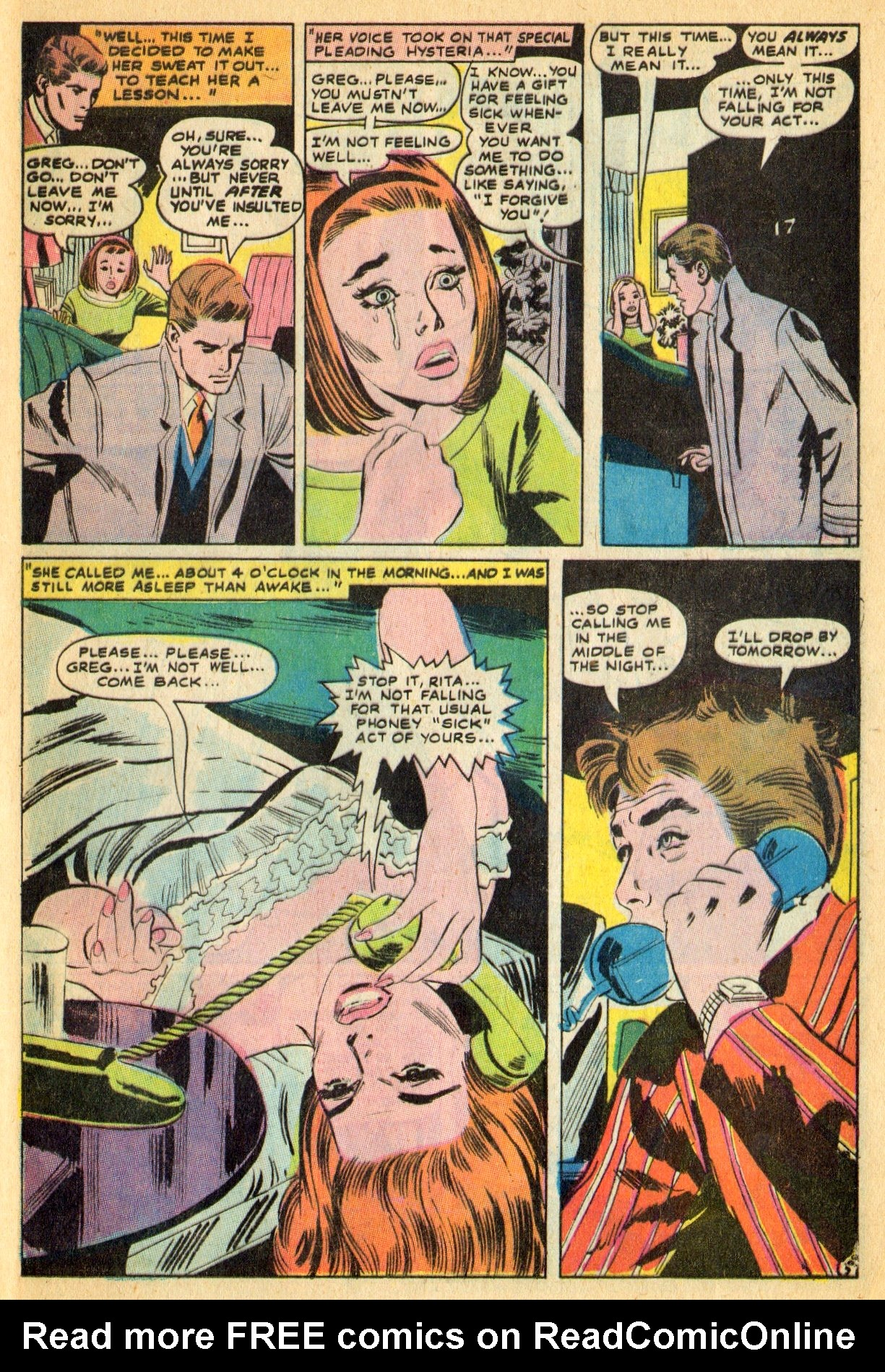 Read online Secret Hearts comic -  Issue #134 - 25