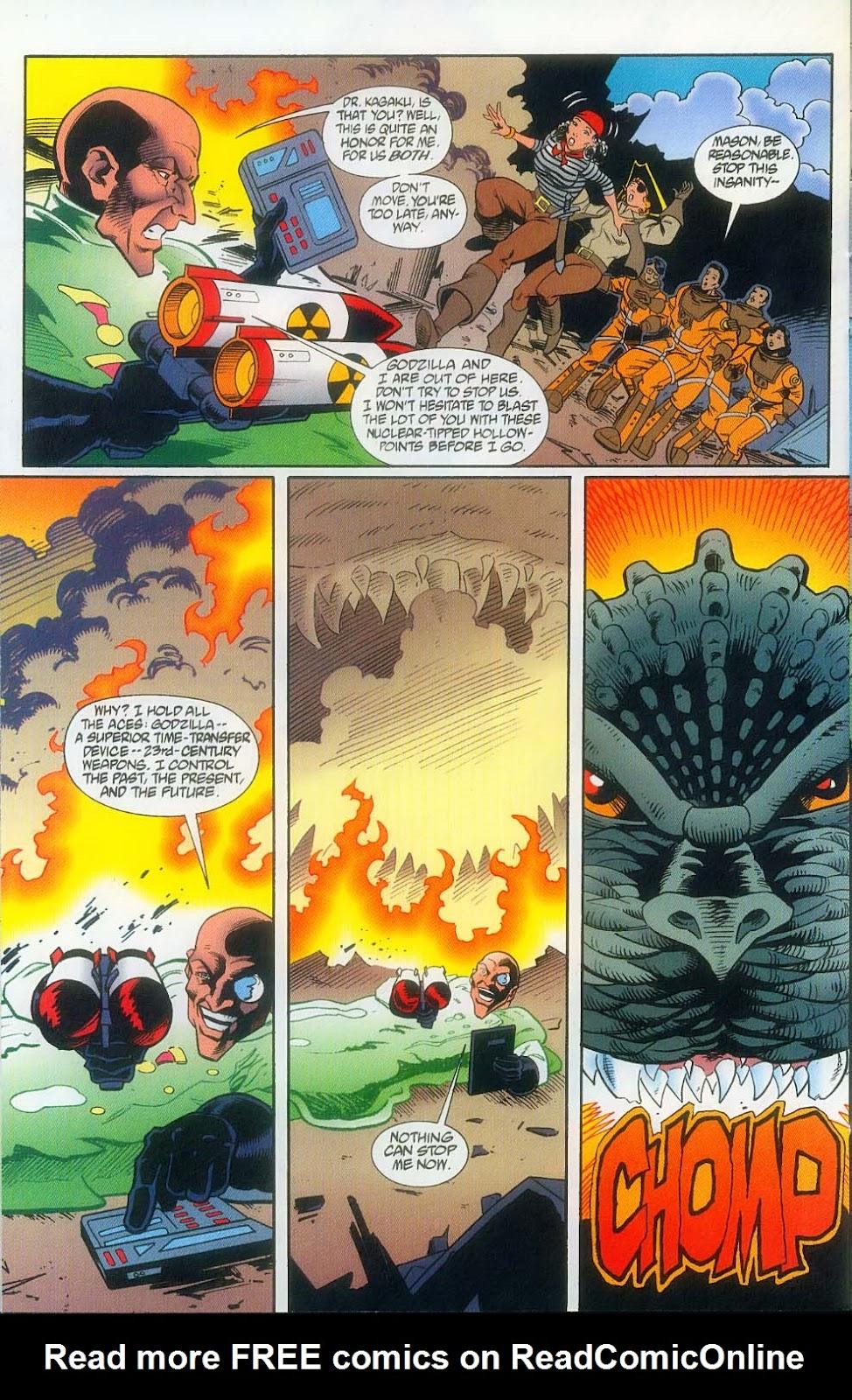 Godzilla (1995) Issue #12 #13 - English 24