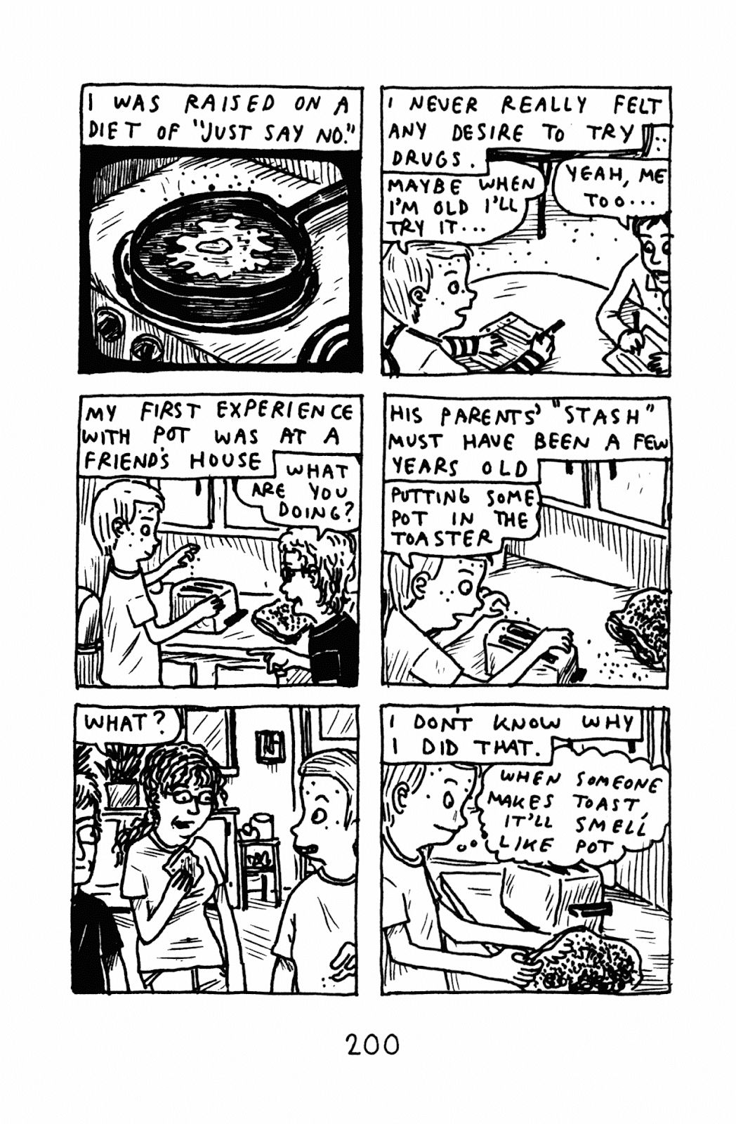 Funny Misshapen Body: A Memoir issue TPB (Part 3) - Page 1