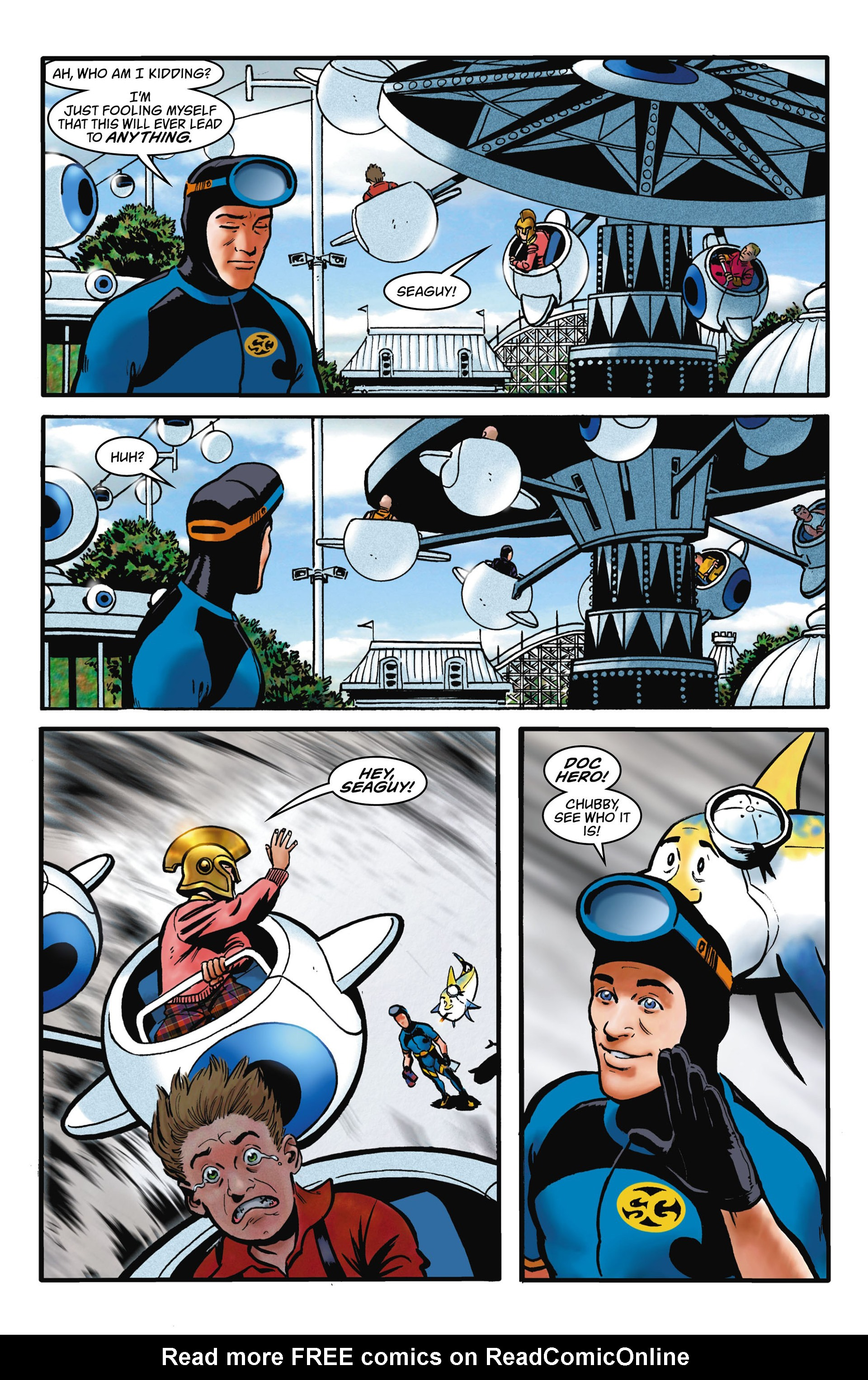 Read online Seaguy comic -  Issue #1 - 20