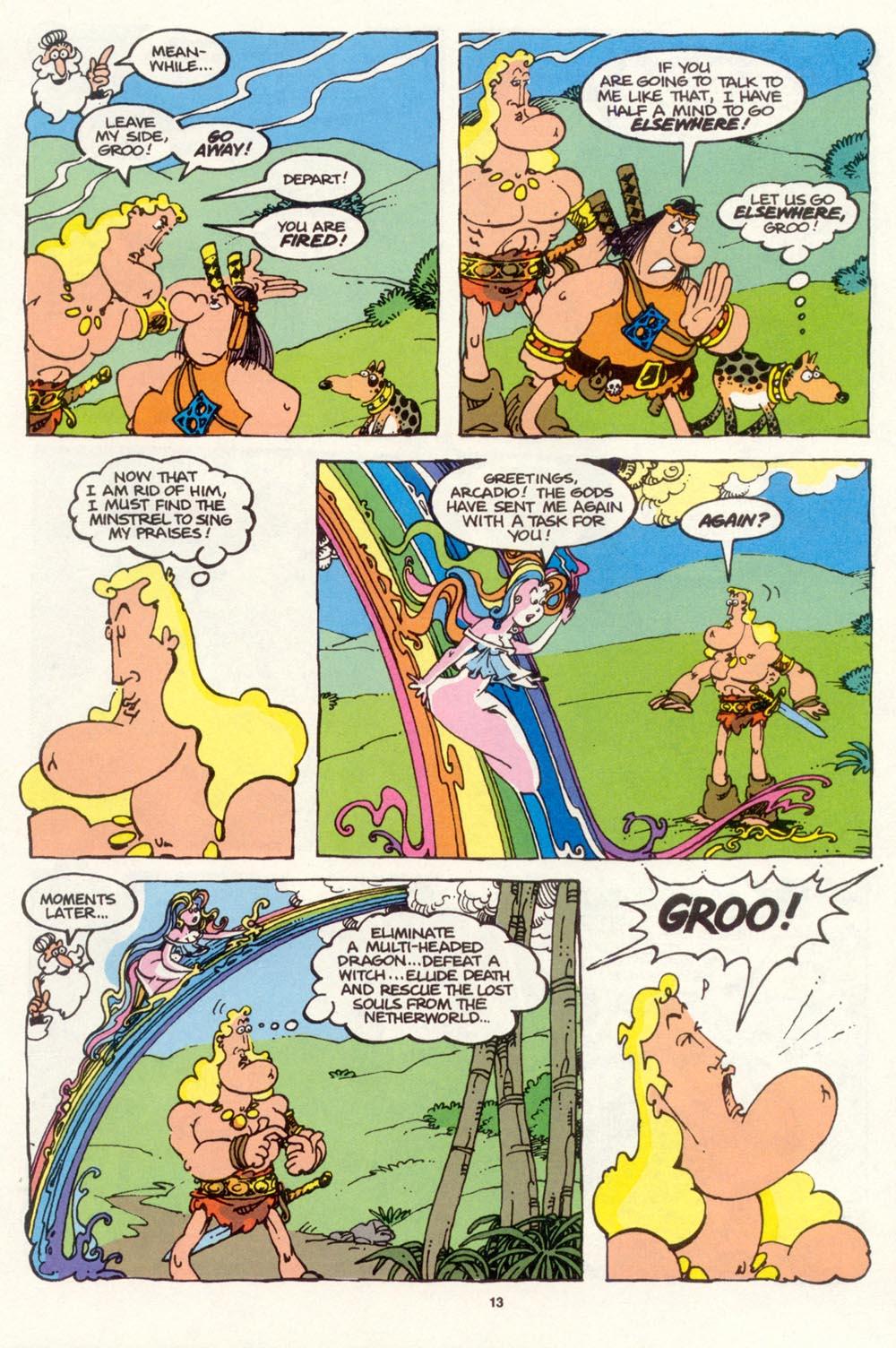 Read online Sergio Aragonés Groo the Wanderer comic -  Issue #99 - 14