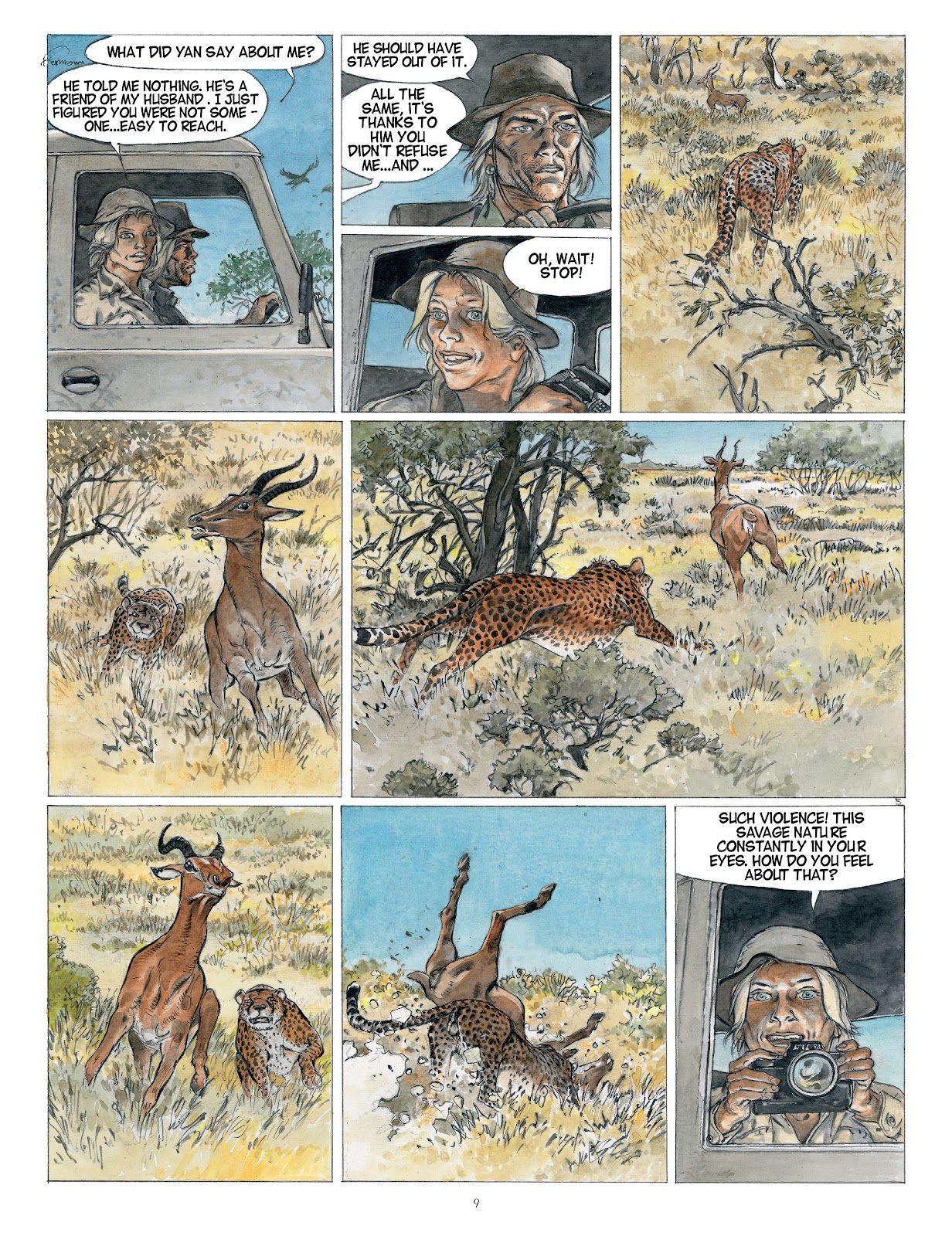 Read online Afrika comic -  Issue # TPB - 9