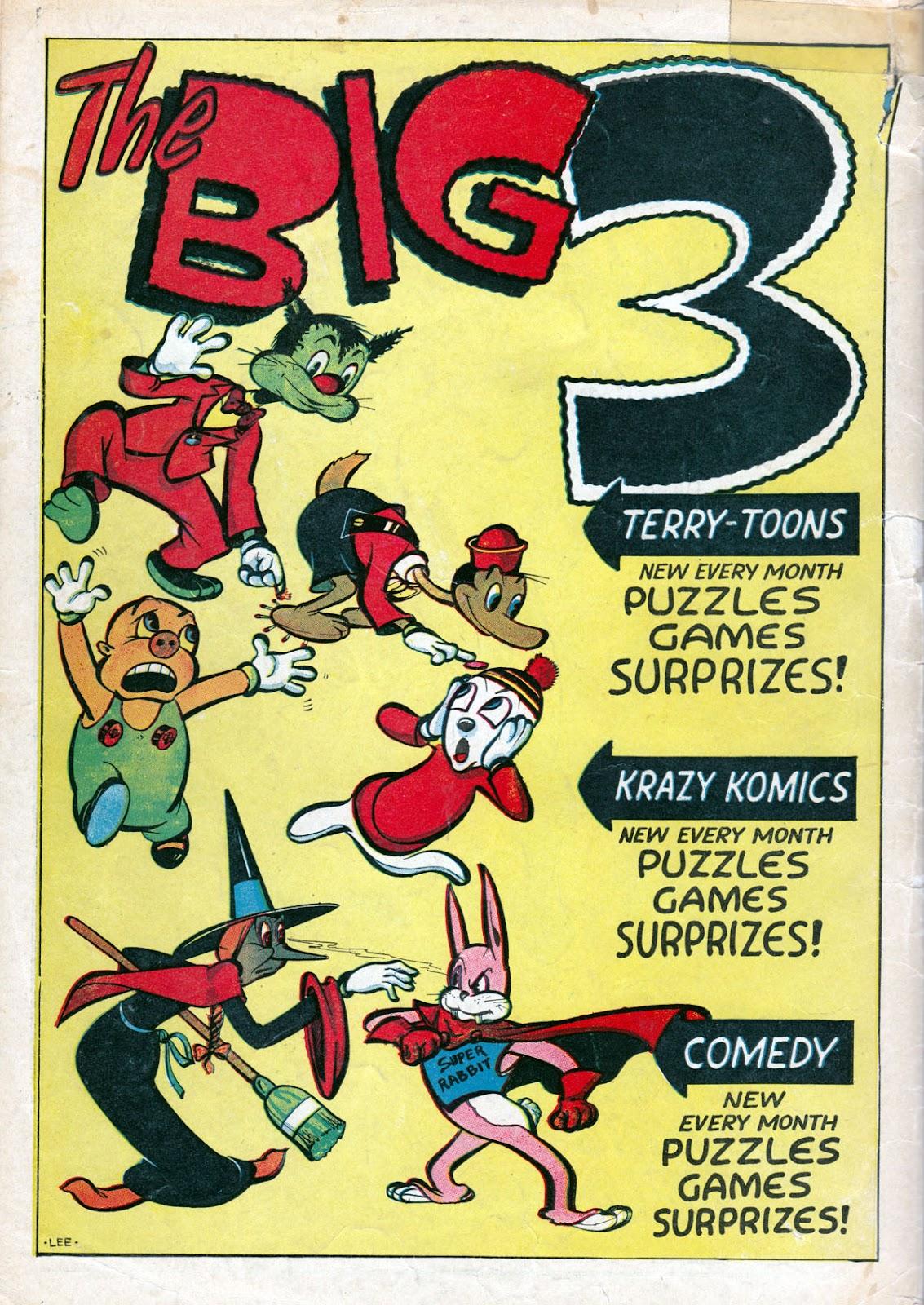Read online Comedy Comics (1942) comic -  Issue #14 - 68