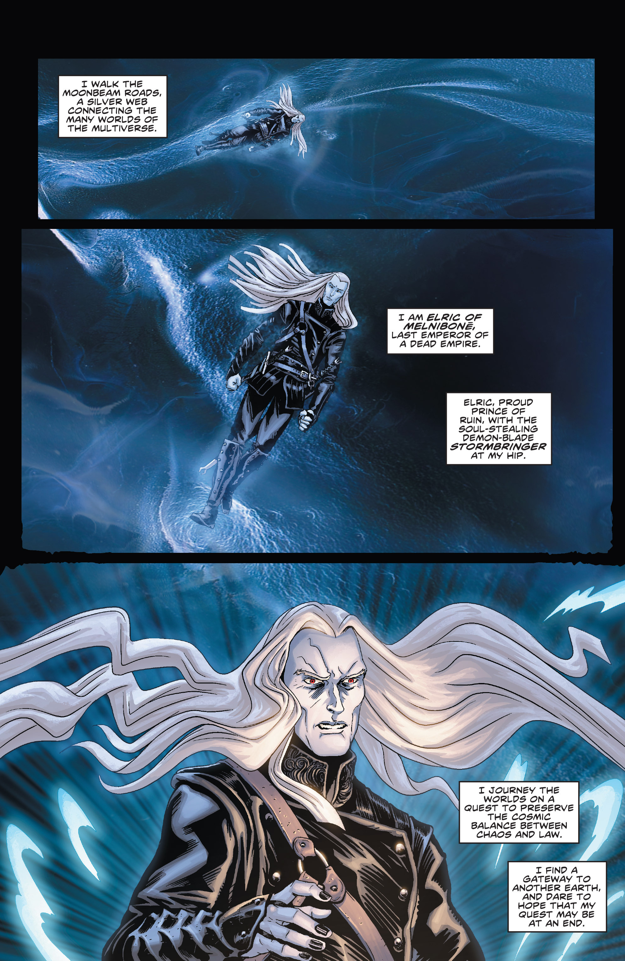Read online Elric: The Balance Lost comic -  Issue # TPB 1 - 18