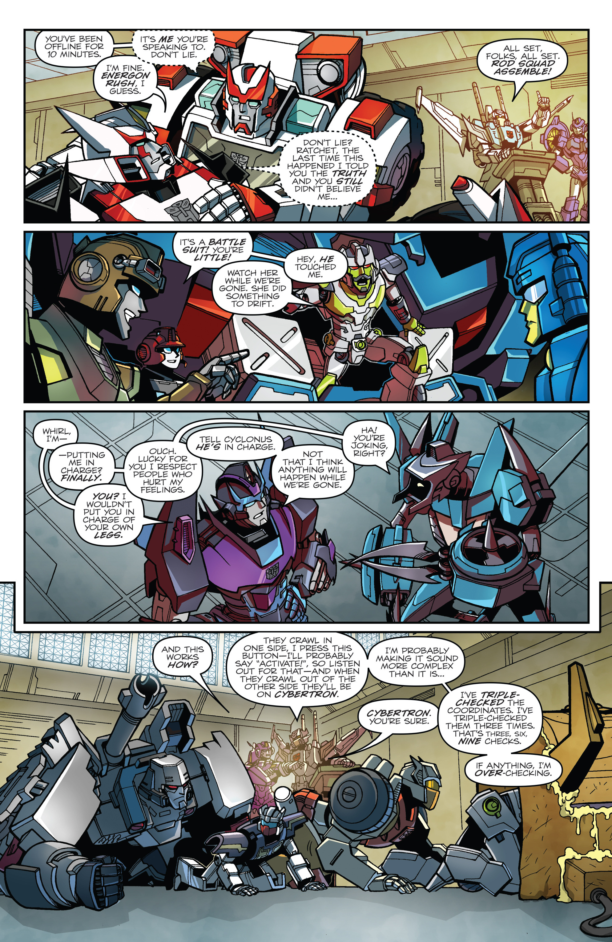 Read online Transformers: Lost Light comic -  Issue #1 - 20