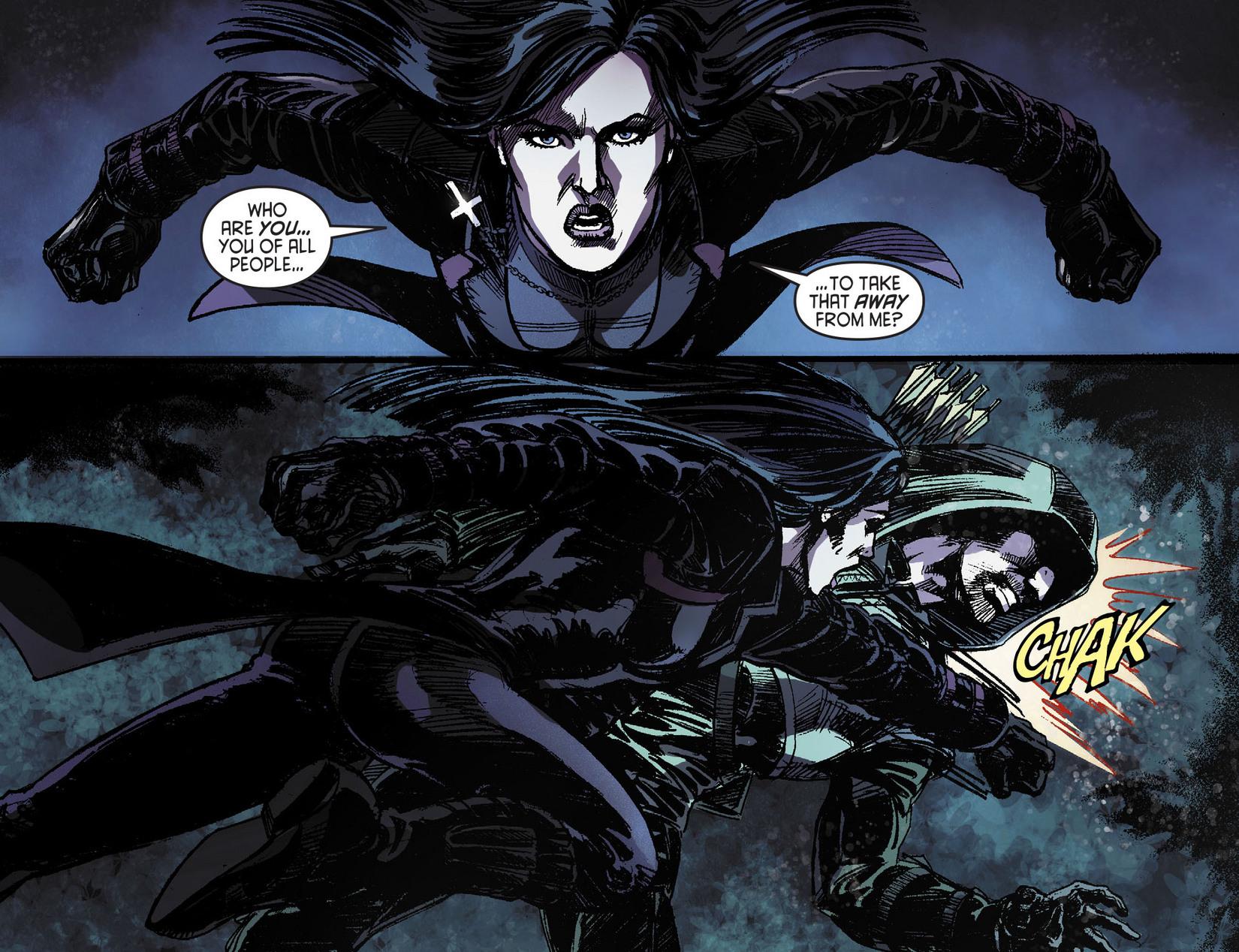 Read online Arrow [II] comic -  Issue #11 - 4