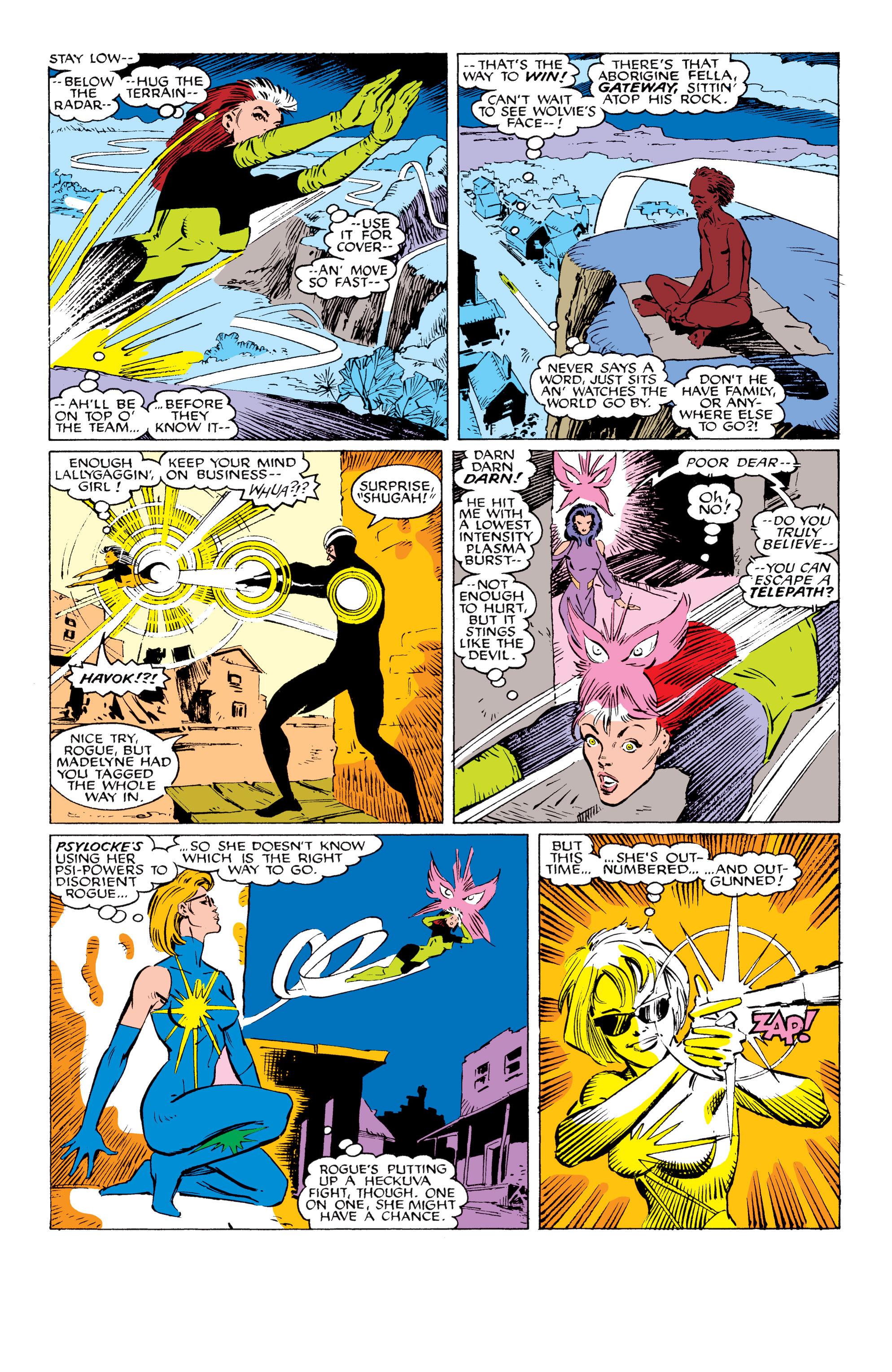Read online Uncanny X-Men (1963) comic -  Issue #230 - 4