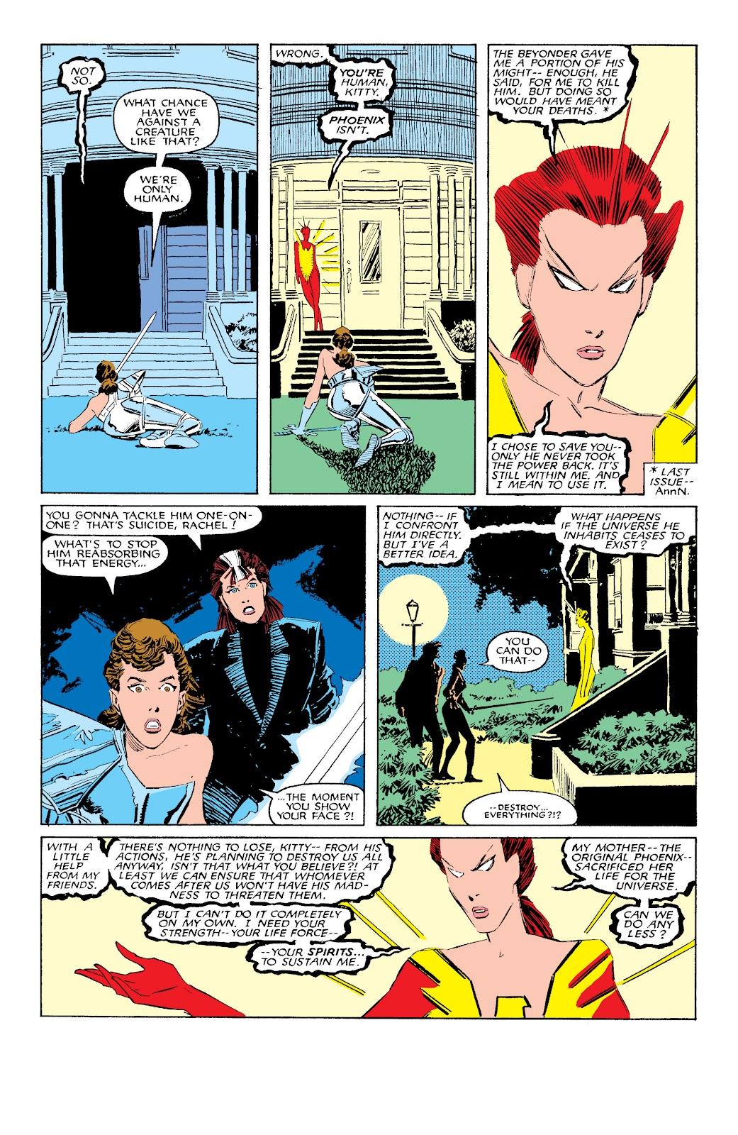 Uncanny X-Men (1963) issue 203 - Page 8