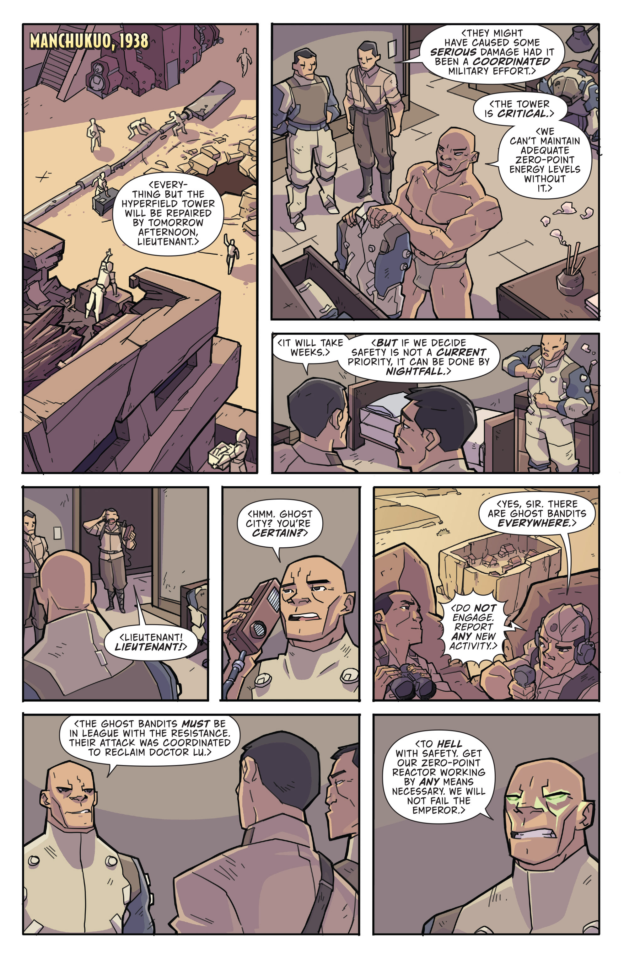 Read online Atomic Robo and the Temple of Od comic -  Issue #3 - 6