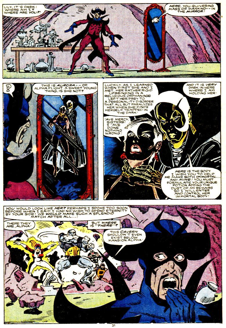 Read online Alpha Flight (1983) comic -  Issue # _Annual 1 - 32