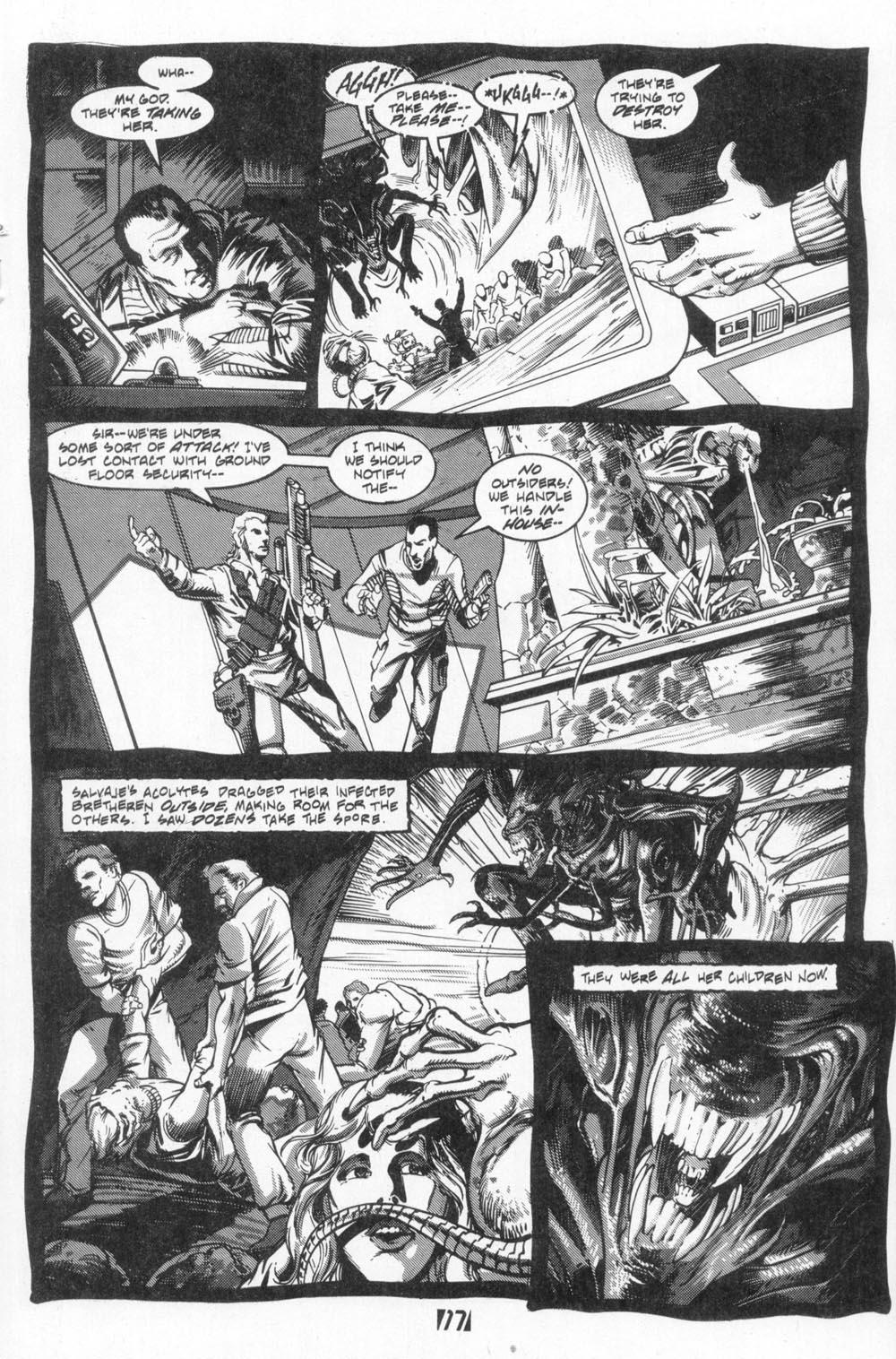 Read online Aliens (1988) comic -  Issue #4 - 19
