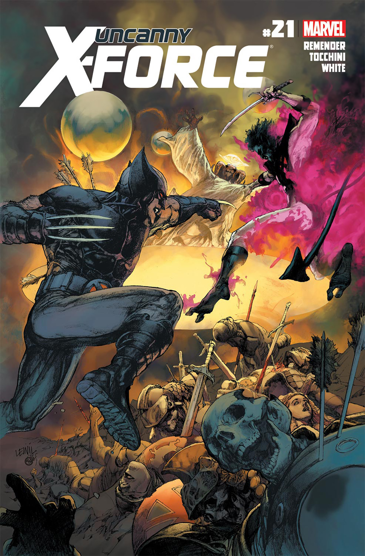 Uncanny X-Force (2010) #21 #23 - English 1