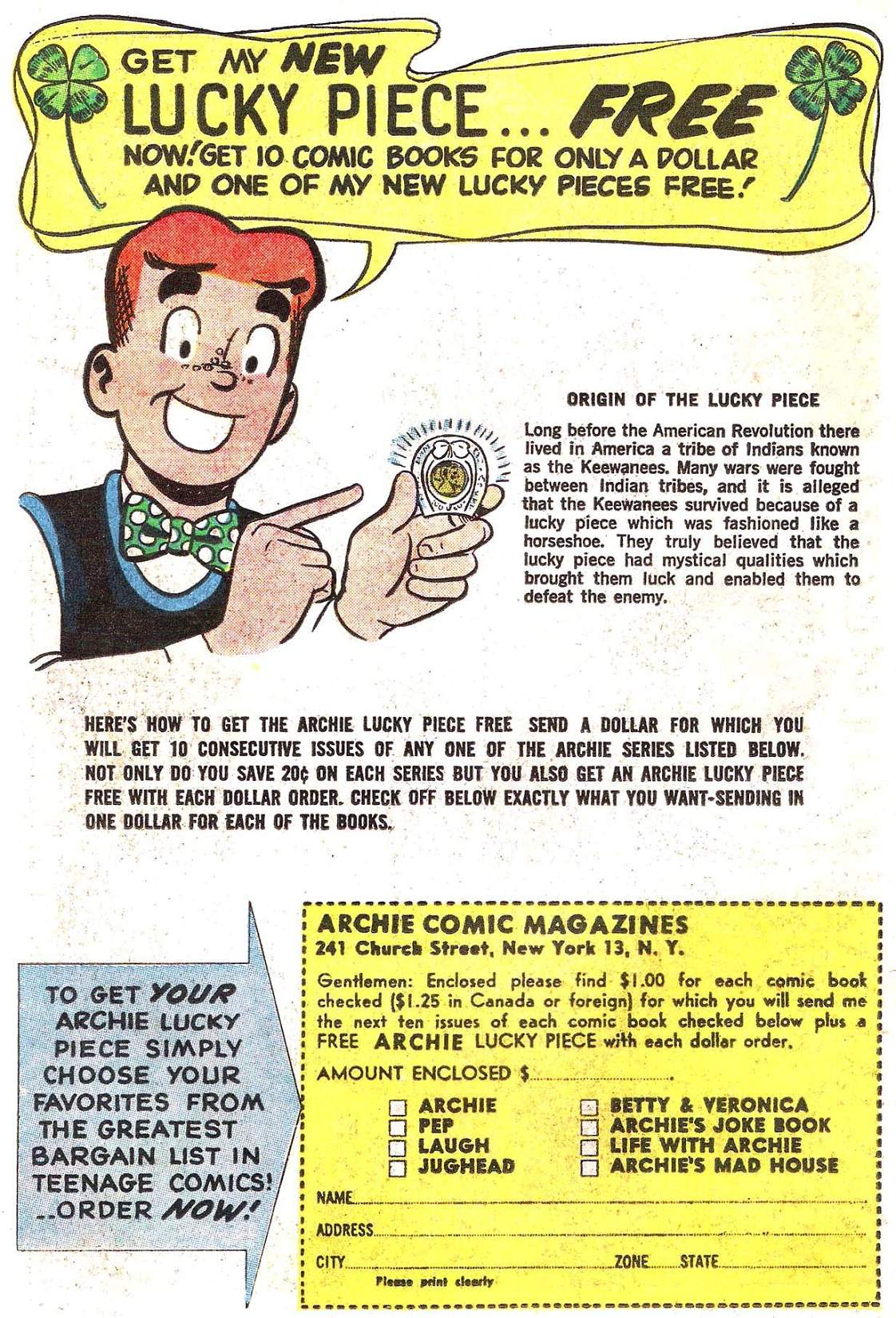 Read online Archie (1960) comic -  Issue #147 - 34