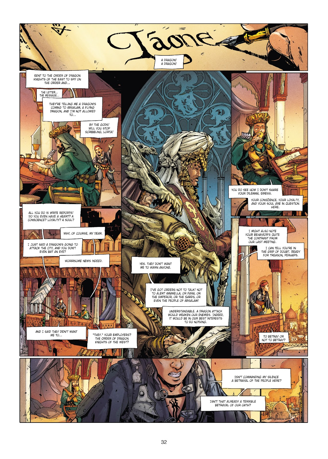 Read online Chronicles of the Dragon Knights comic -  Issue #20 - 32