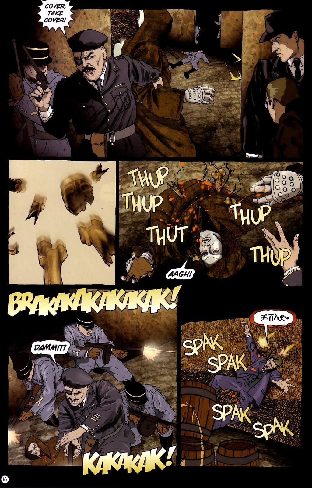 Read online Rex Mundi comic -  Issue #14 - 22