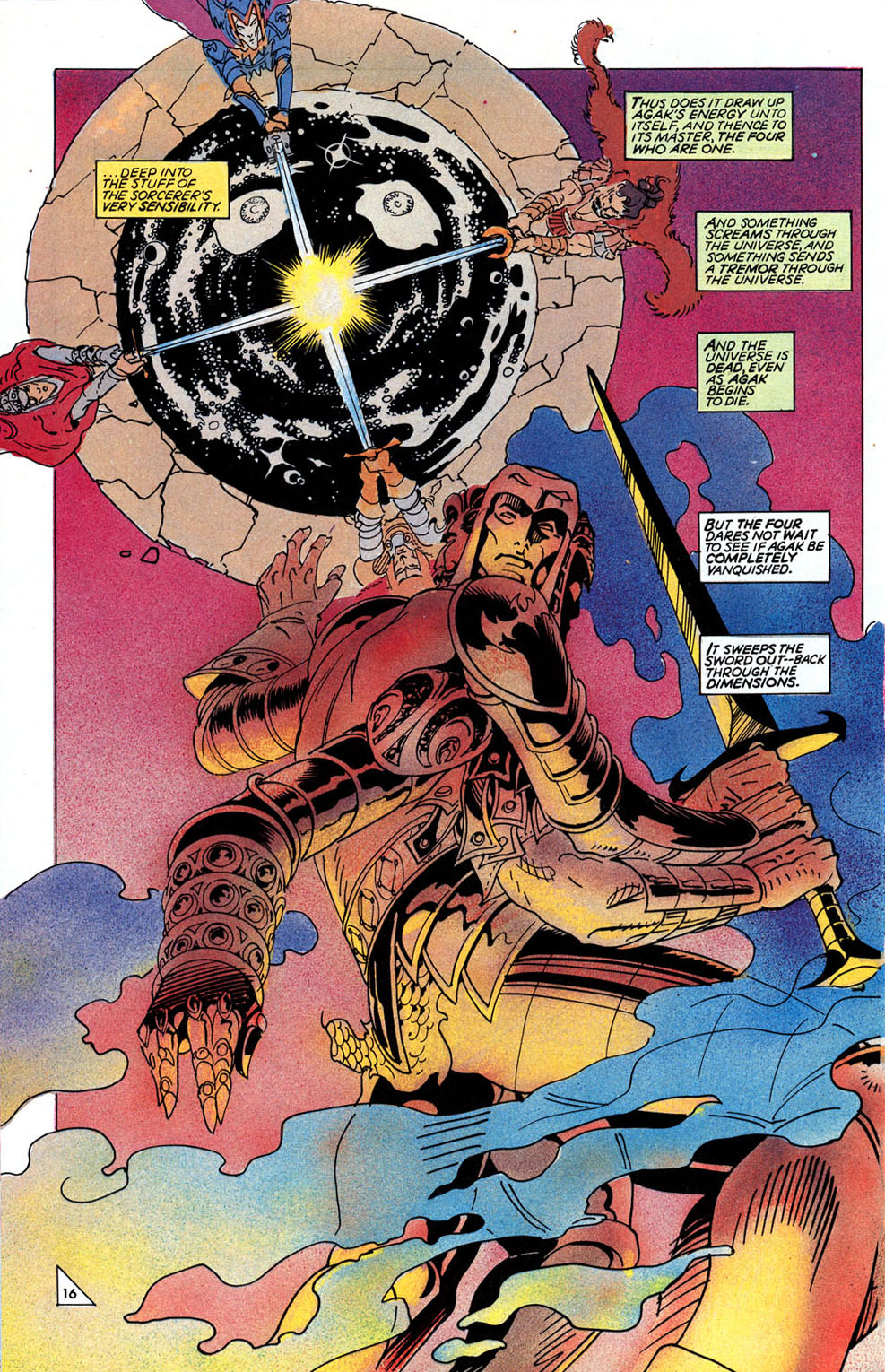 Read online Elric: Sailor on the Seas of Fate comic -  Issue #3 - 19