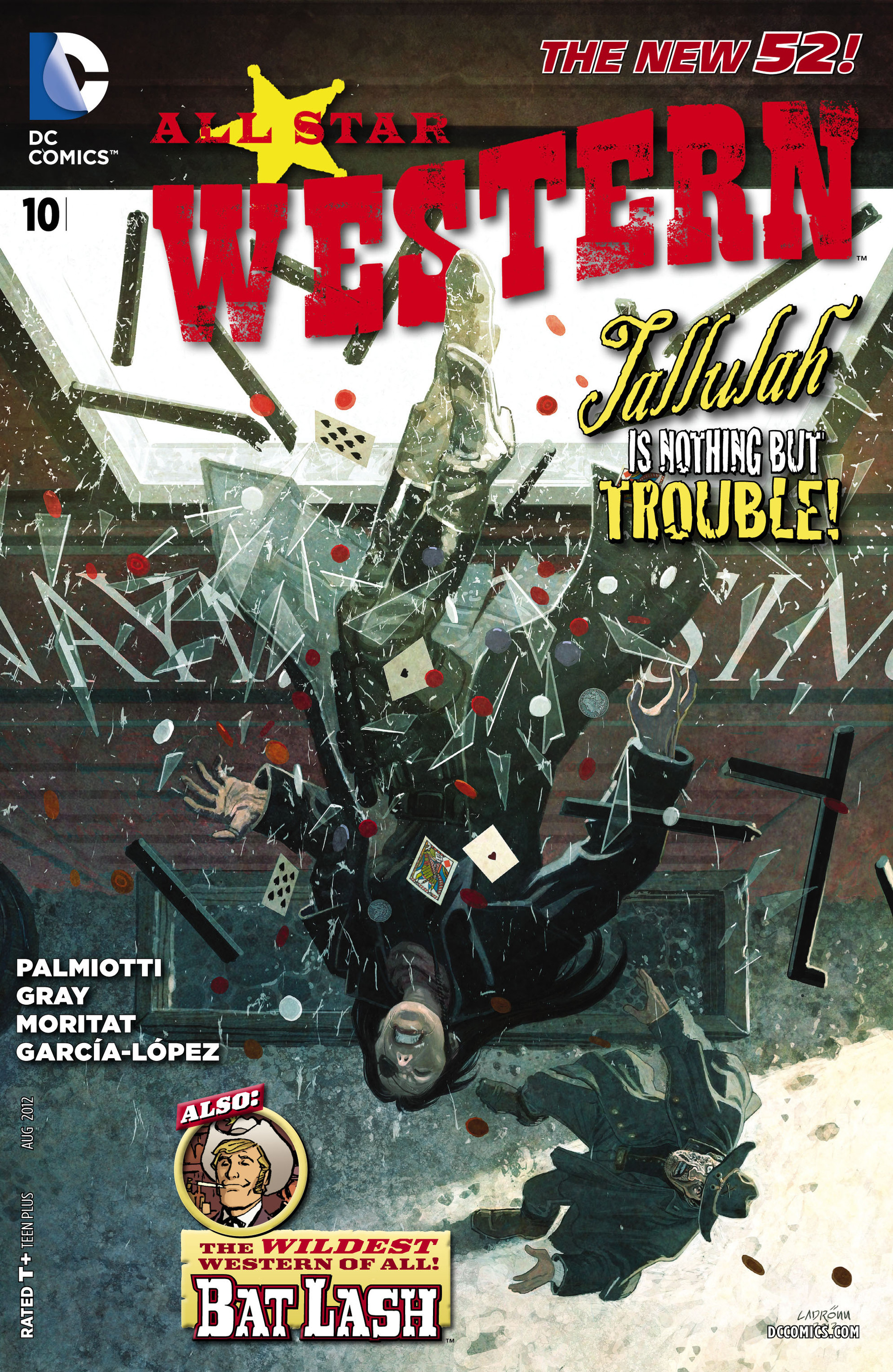 Read online All-Star Western (2011) comic -  Issue #10 - 1